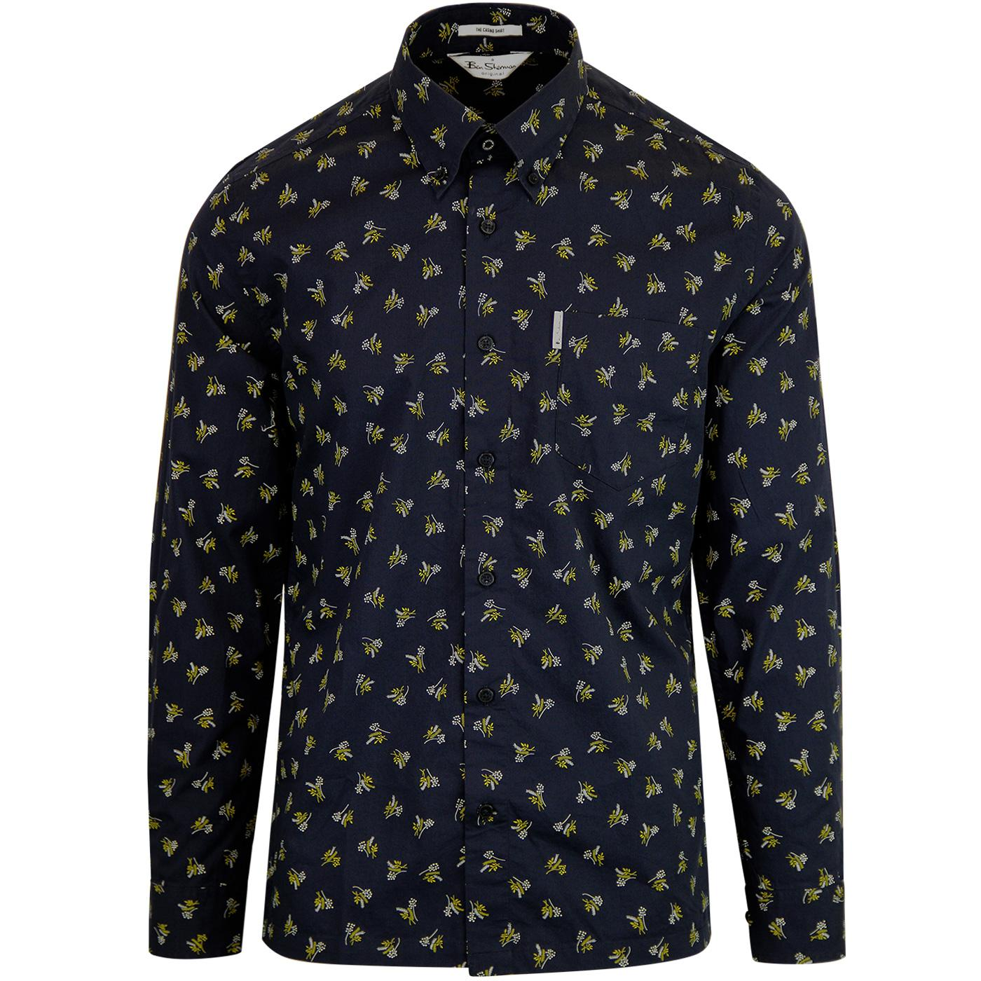 Casino BEN SHERMAN 1970's Archive Print Shirt (N)