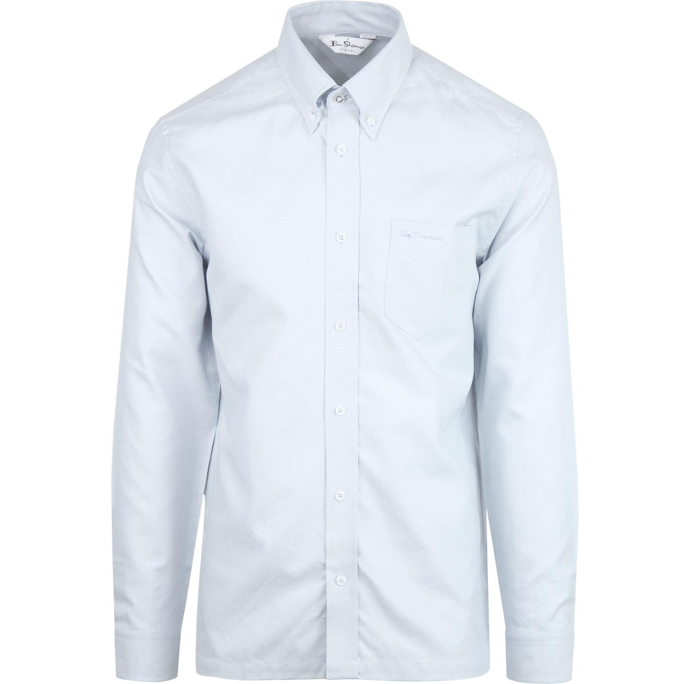 BEN SHERMAN Archive Benny Mod Oxford Shirt (Mint)