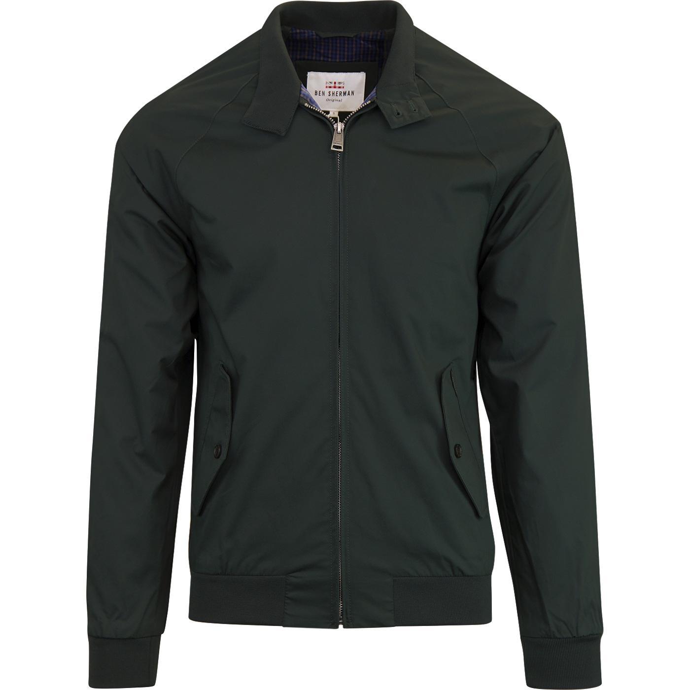 BEN SHERMAN Retro Mod Harrington Jacket (Forest)