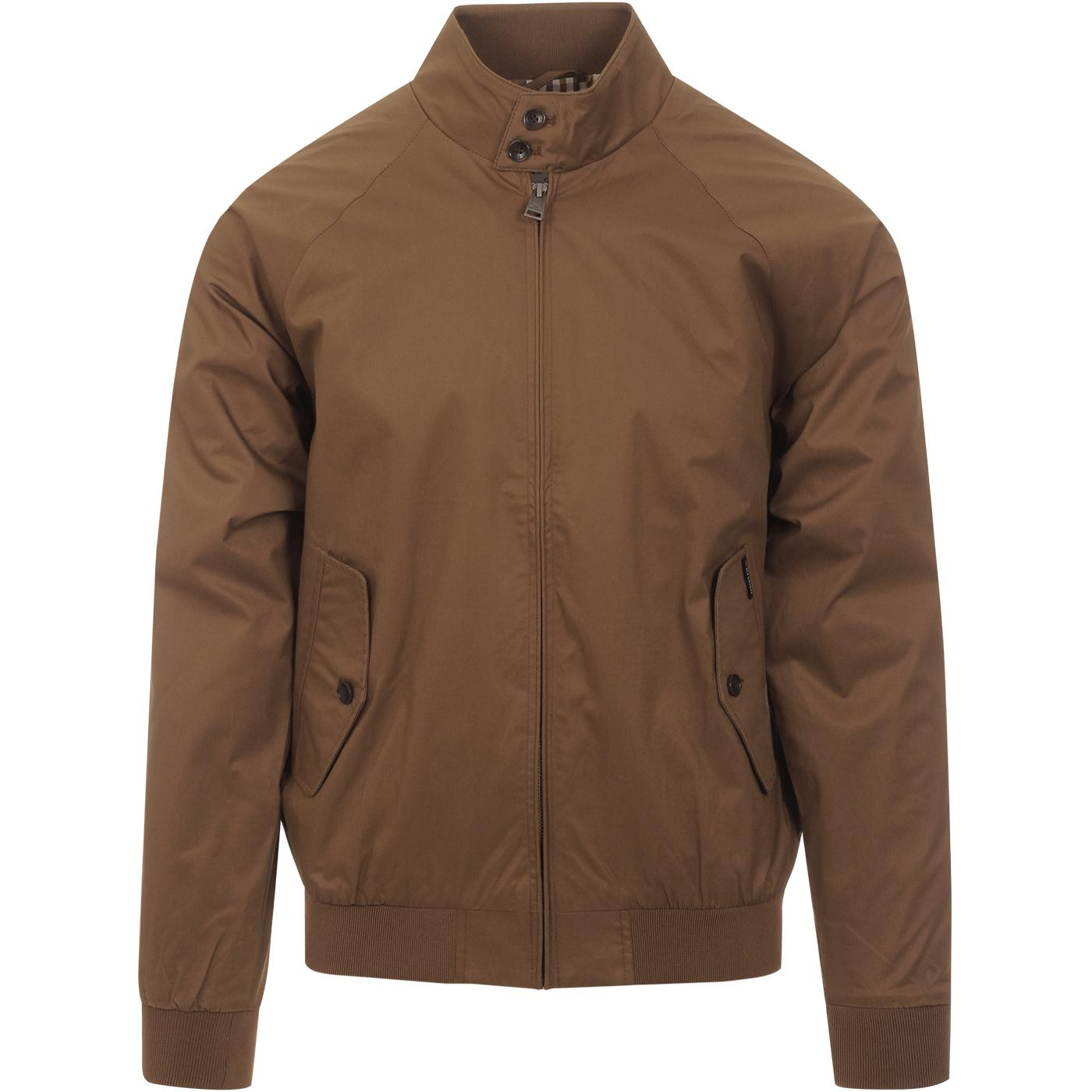 BEN SHERMAN Men's 60s Mod Harrintgton Jacket TAN