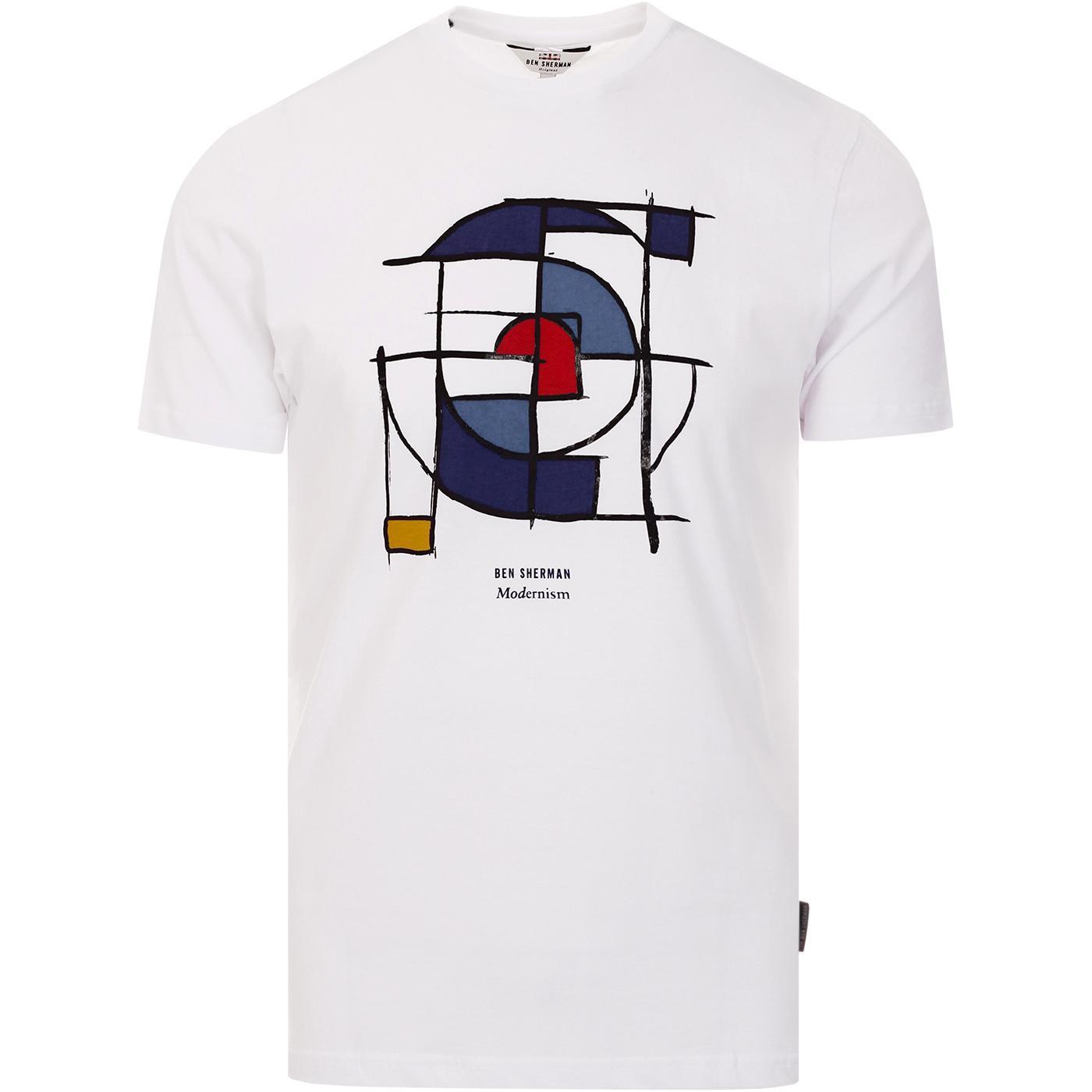 Mondrian Mod Target BEN SHERMAN Retro T-shirt (W)