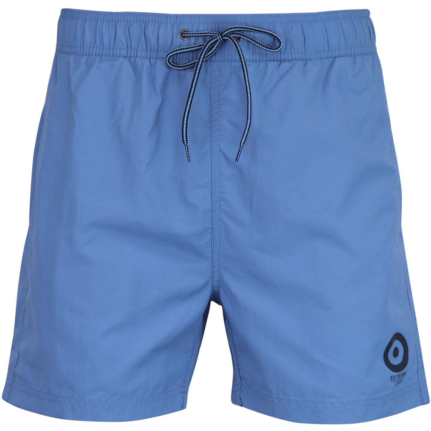 Bathsheba BEN SHERMAN Retro Swim Shorts (Cobalt)
