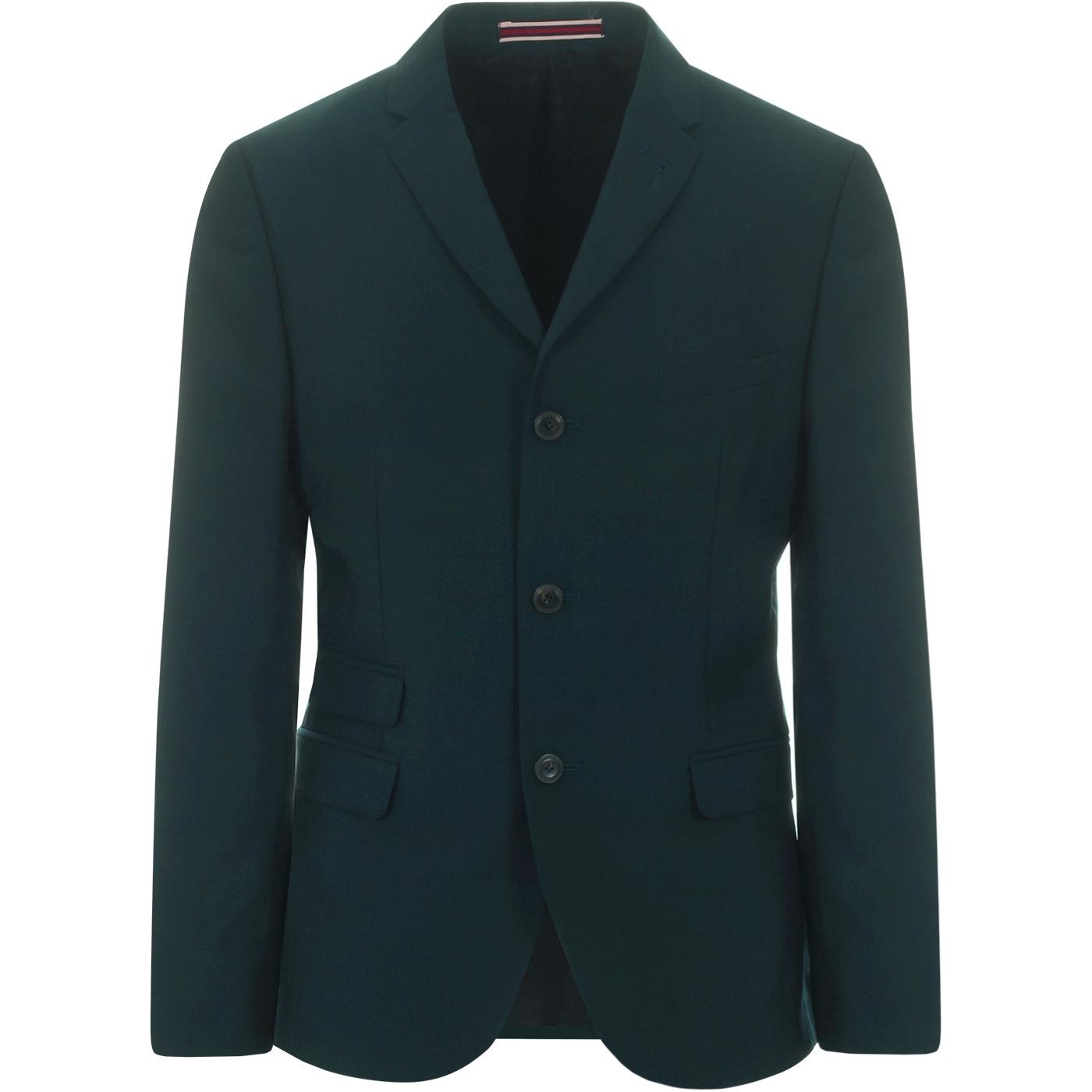 BEN SHERMAN 3 Button Tonic Suit Jacket (Sea Moss)