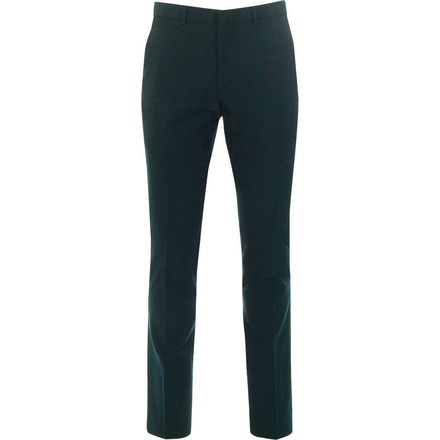 BEN SHERMAN 60s Mod Tonic Suit Trousers (Sea Moss)