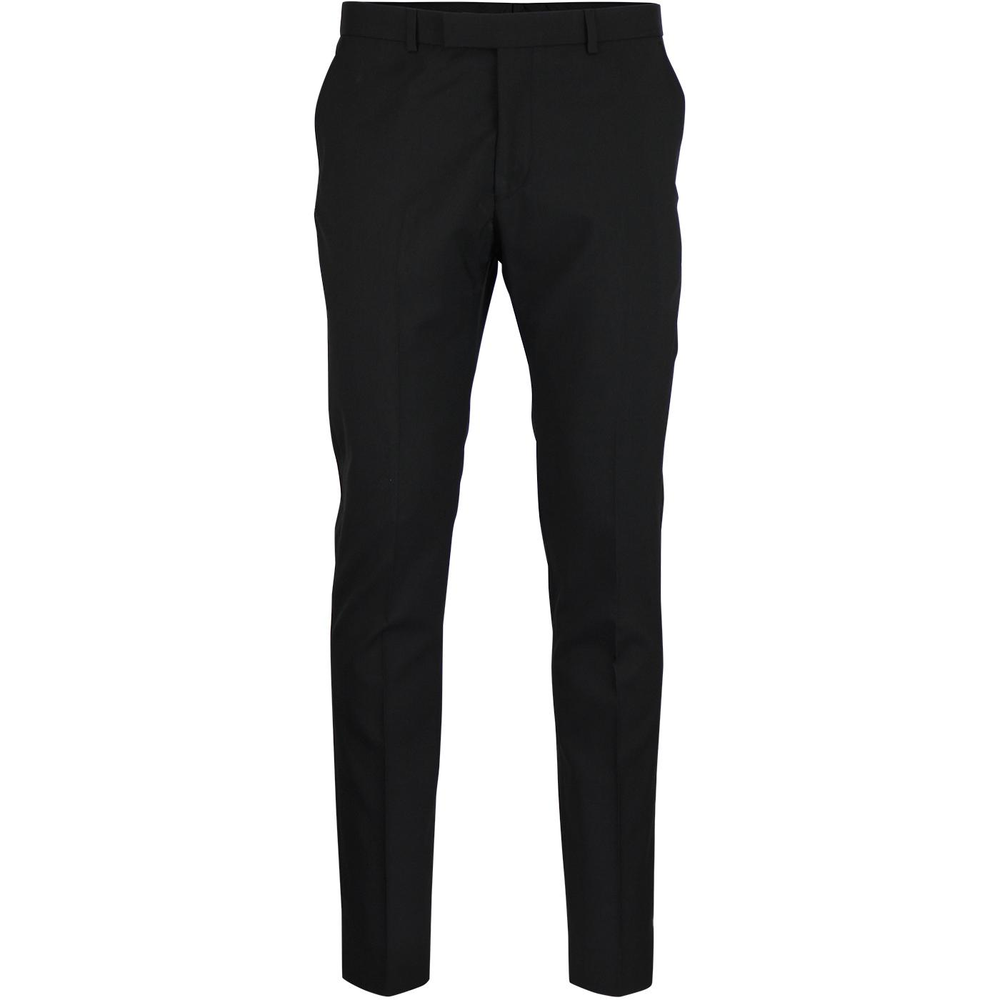 BEN SHERMAN Men's Mod Tonic Suit Trousers (Black)