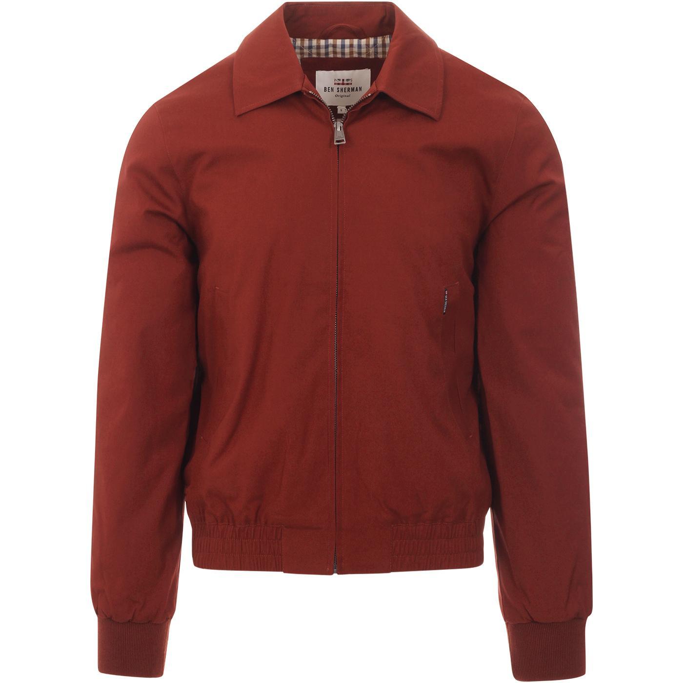 BEN SHERMAN Men's Retro Quilted Harrington Jacket