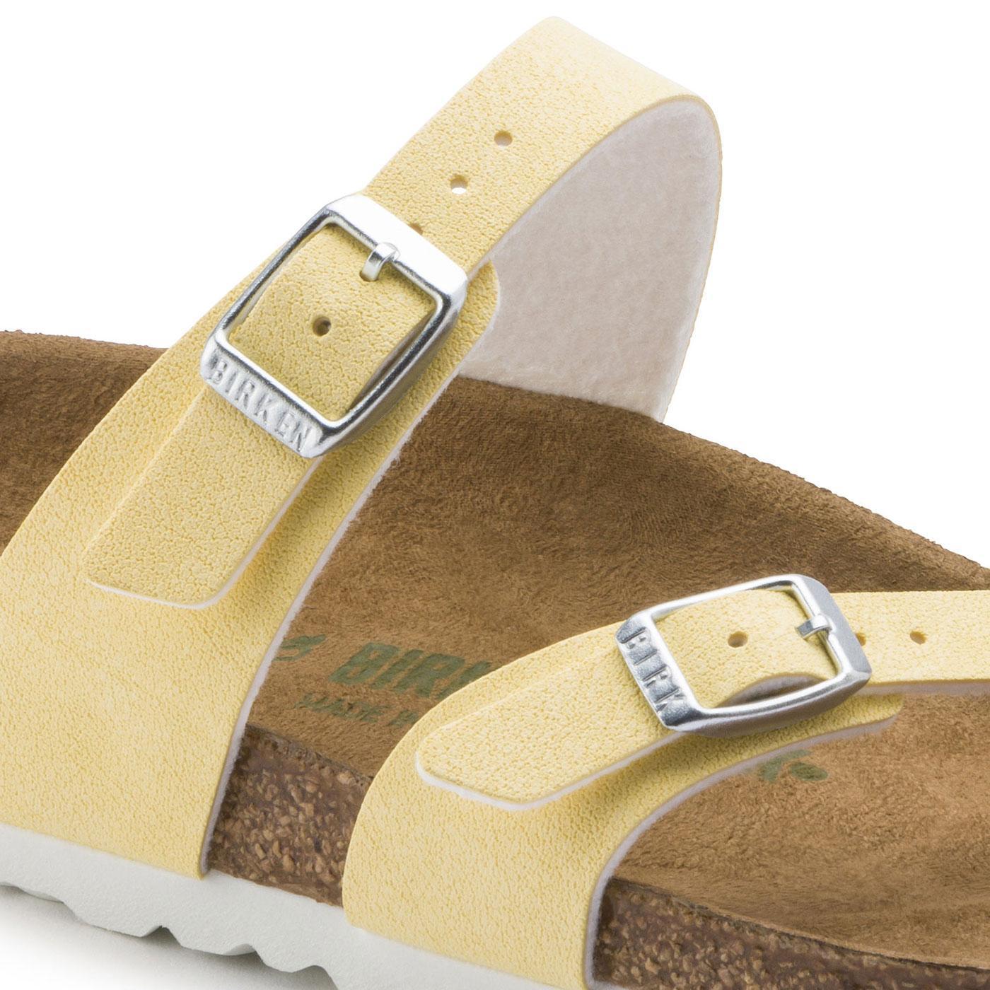 Birkenstock Mayari yellow women's sandal ko:ko