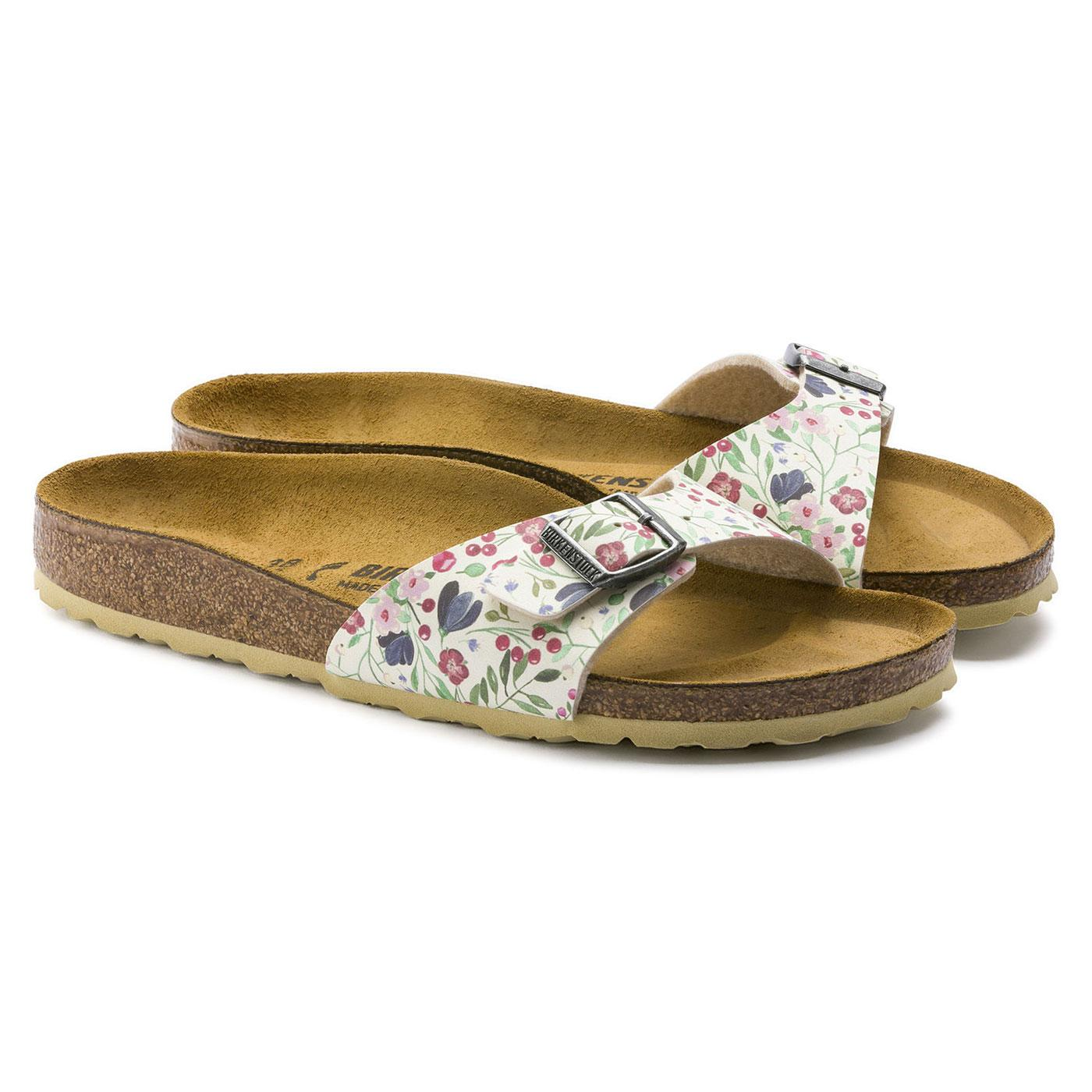 Madrid BIRKENSTOCK Women's Retro Floral Sandals