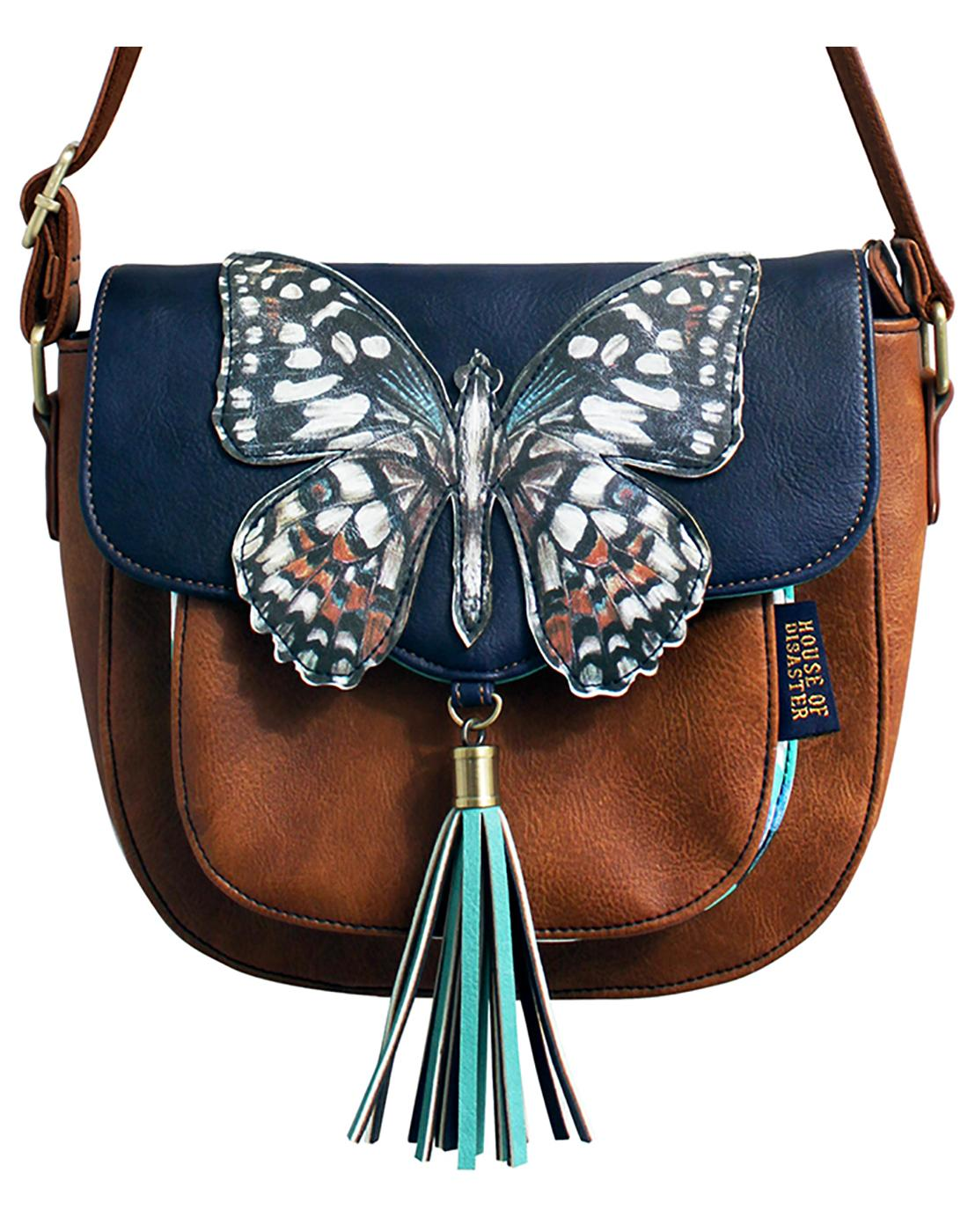DISASTER DESIGNS Retro Bohemia Butterfly Bag