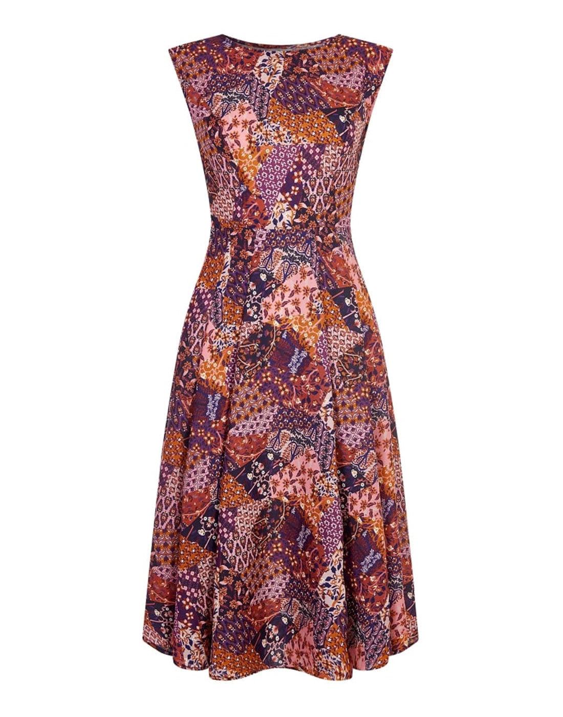 Astrid BRIGHT & BEAUTIFUL Retro 60s Summer Dress