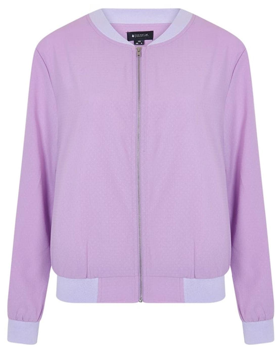 Tara BRIGHT & BEAUTIFUL Womens Retro Bomber Jacket