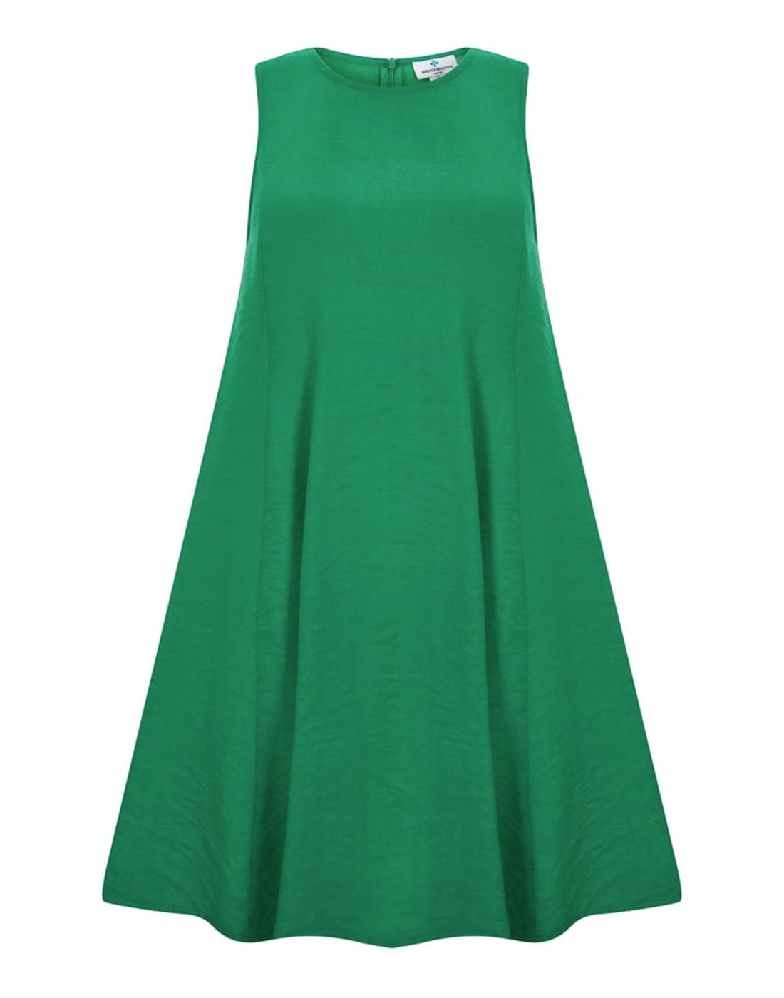 Tessa BRIGHT & BEAUTIFUL 60s Baby Doll Dress Green