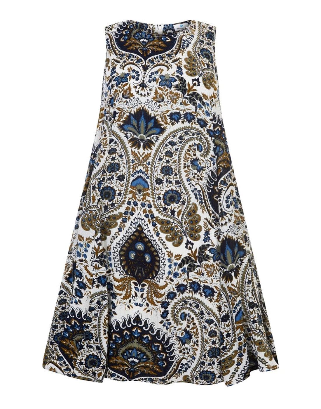 Tessa BRIGHT & BEAUTIFUL Baby Doll Paisley Dress