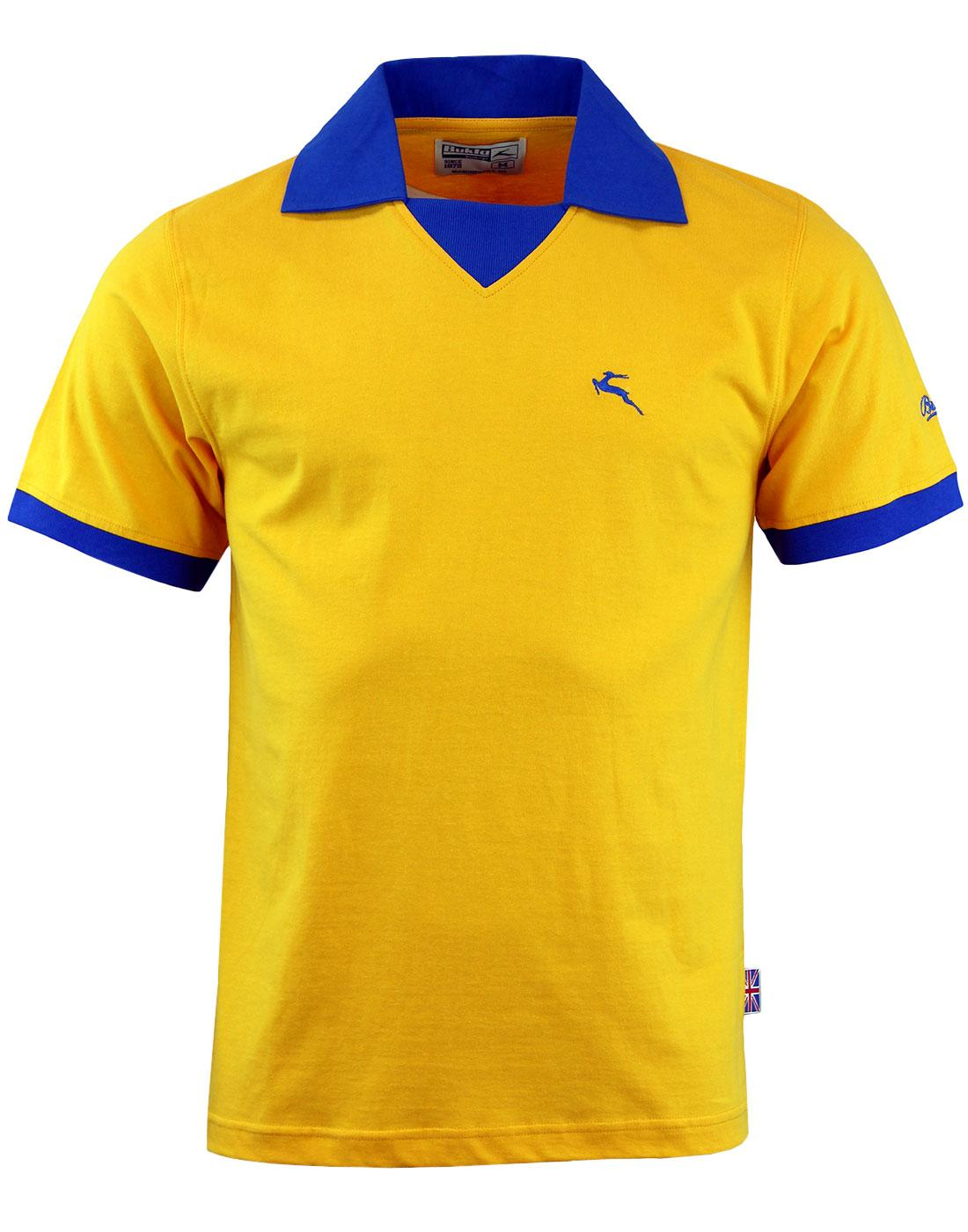 'Portland' -Bukta Vintage Retro Football Shirt (A)