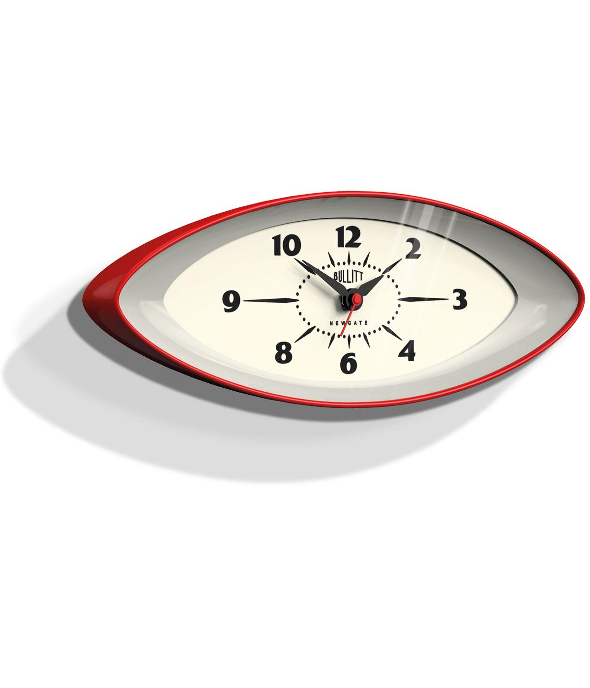 Bullit NEWGATE Retro 60s Mod Space Age Wall Clock