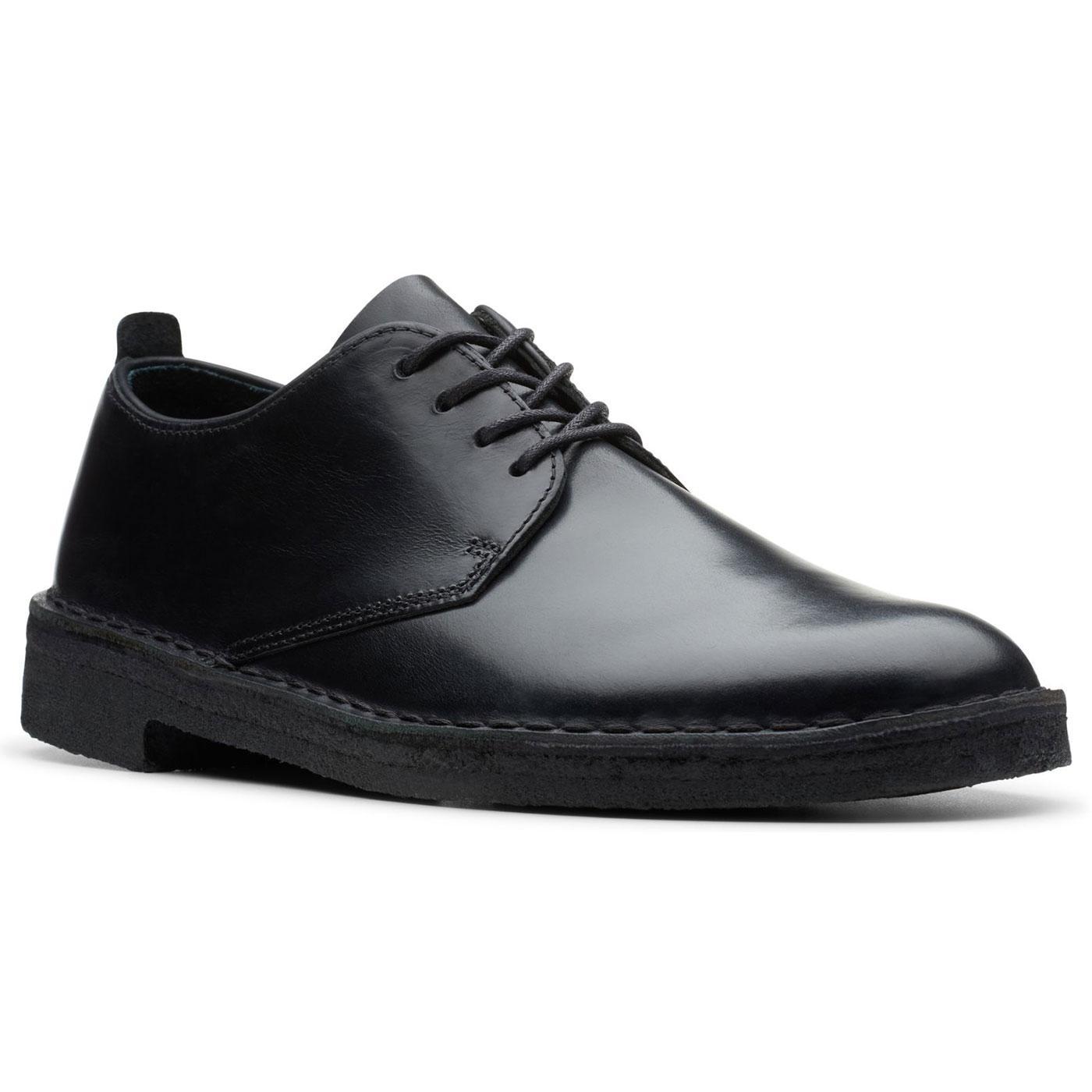 Desert London CLARKS ORIGINALS Leather Mod Shoes B