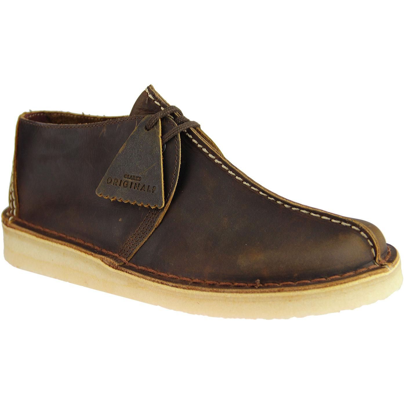 9e83713b3779 CLARKS ORIGINALS Desert Trek Mod 70s Beeswax Shoes