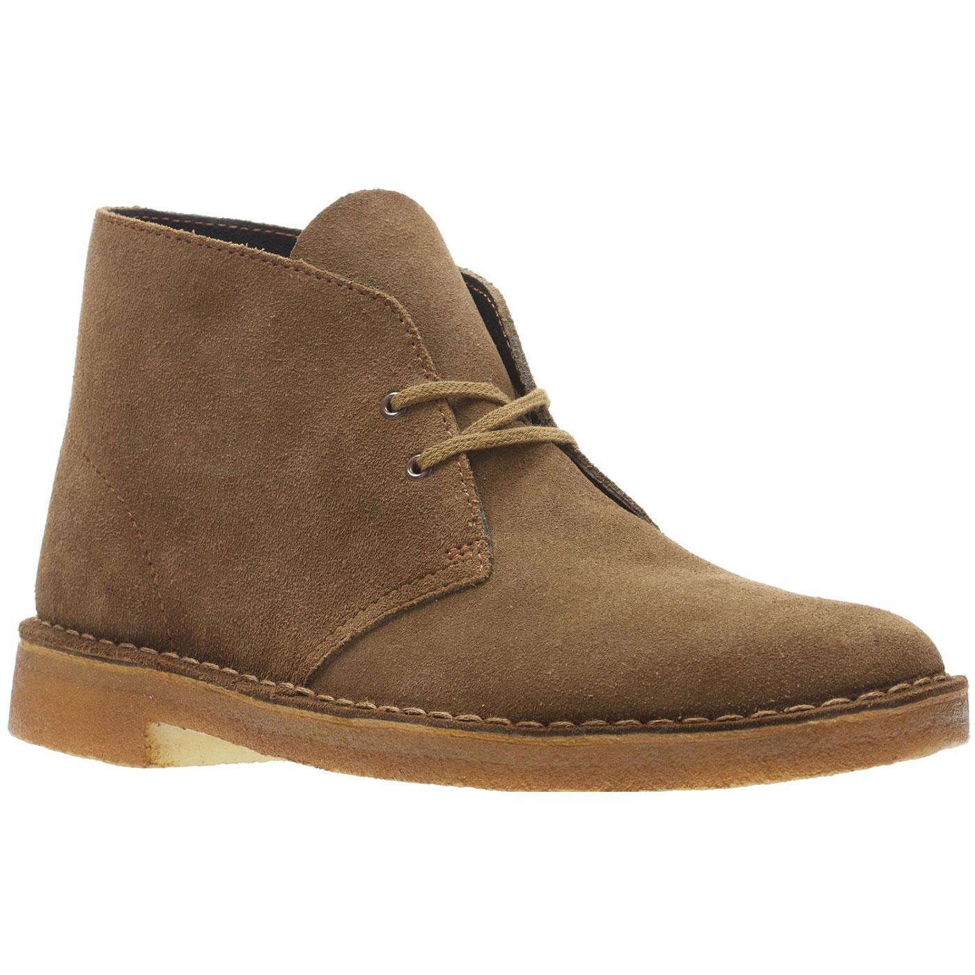 CLARKS ORIGINALS Men's Mod Suede Desert Boots COLA