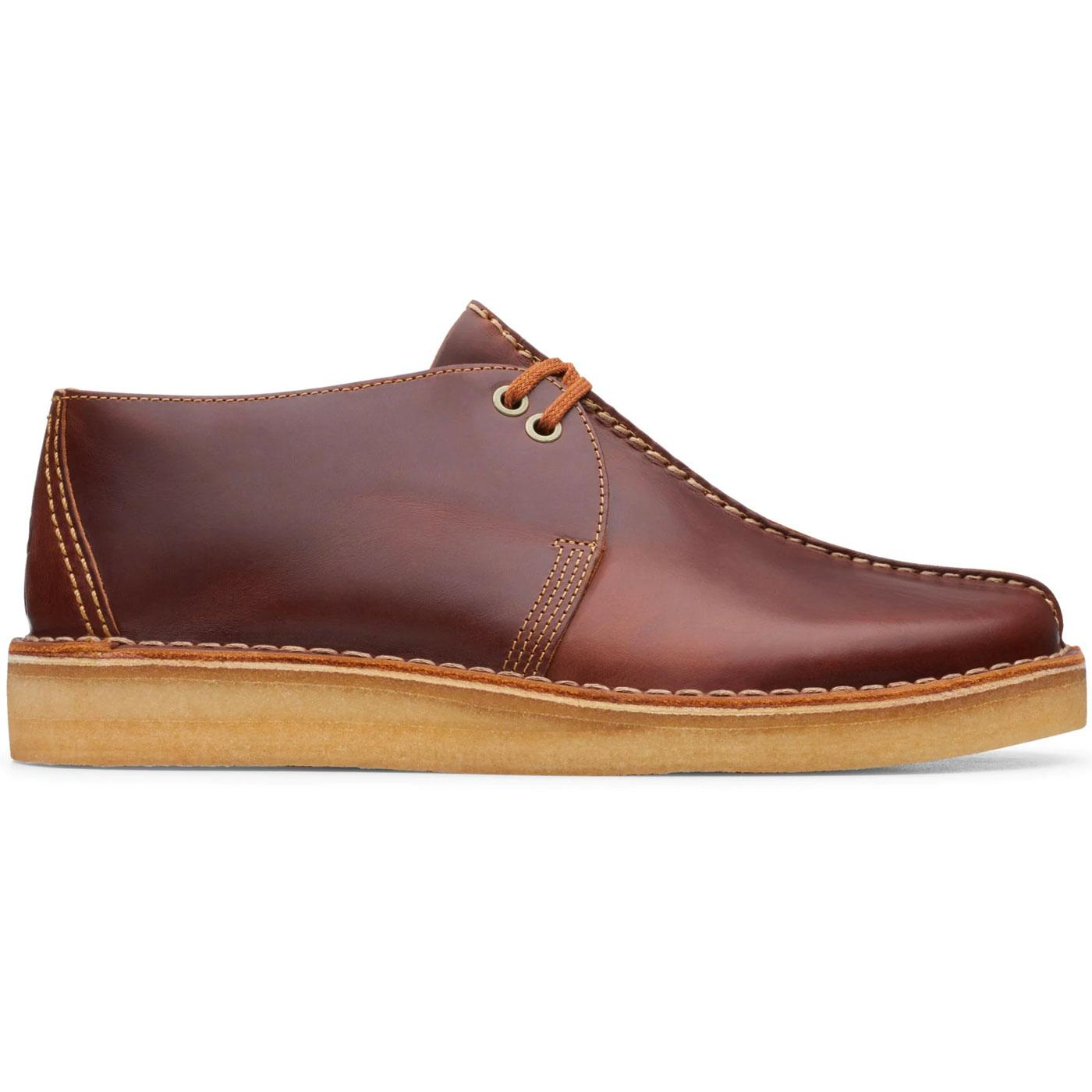 Desert Trek CLARKS ORIGINALS Tan Leather Shoes