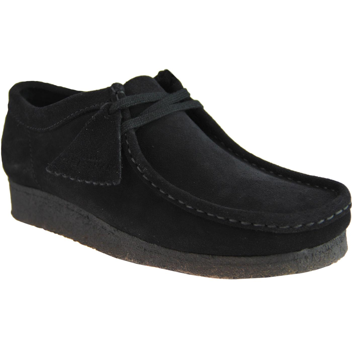 320626a65f01b CLARKS ORIGINALS Wallabee Mod Moccasin Shoes in Black