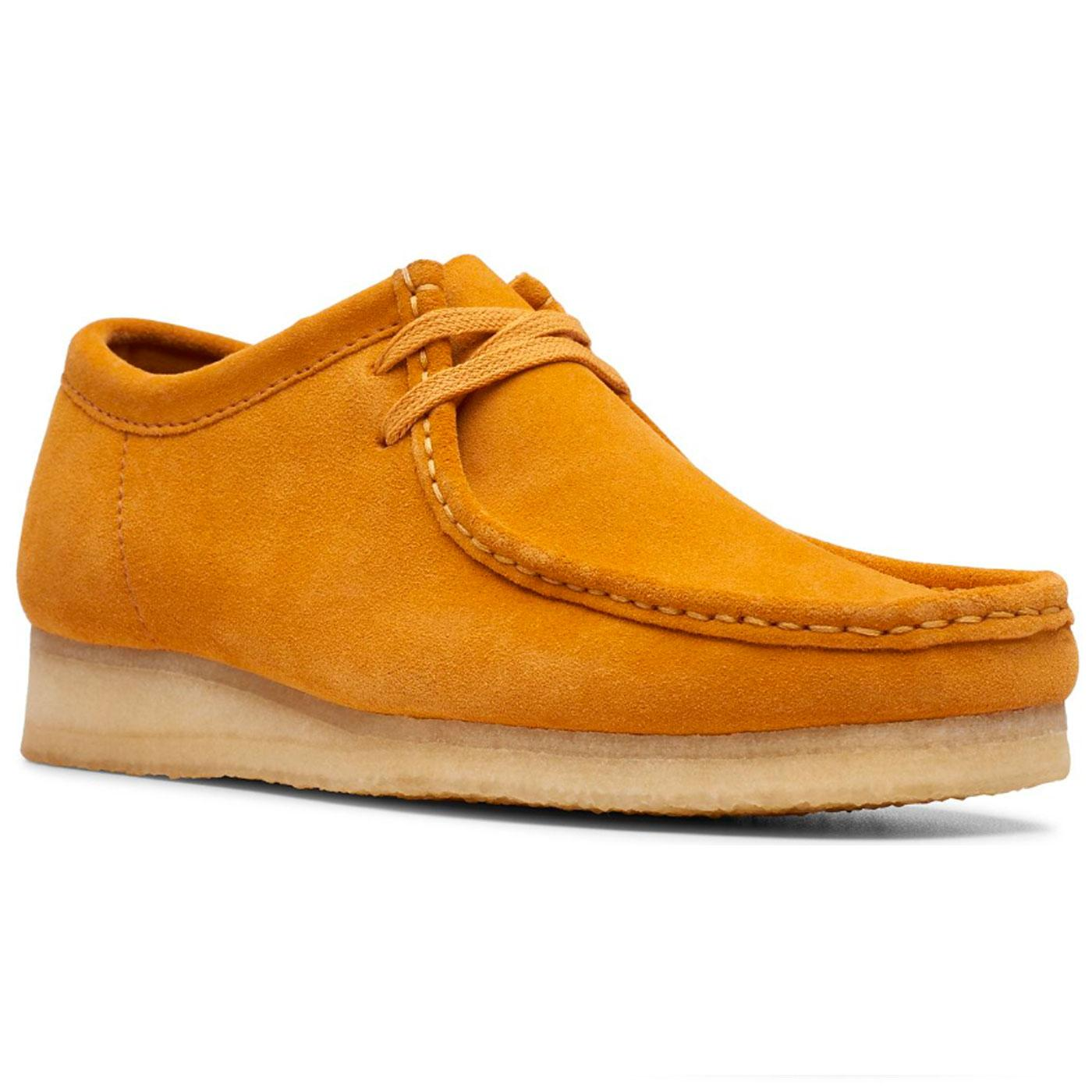 Wallabee CLARKS ORIGINALS Mod Suede Shoes TURMERIC