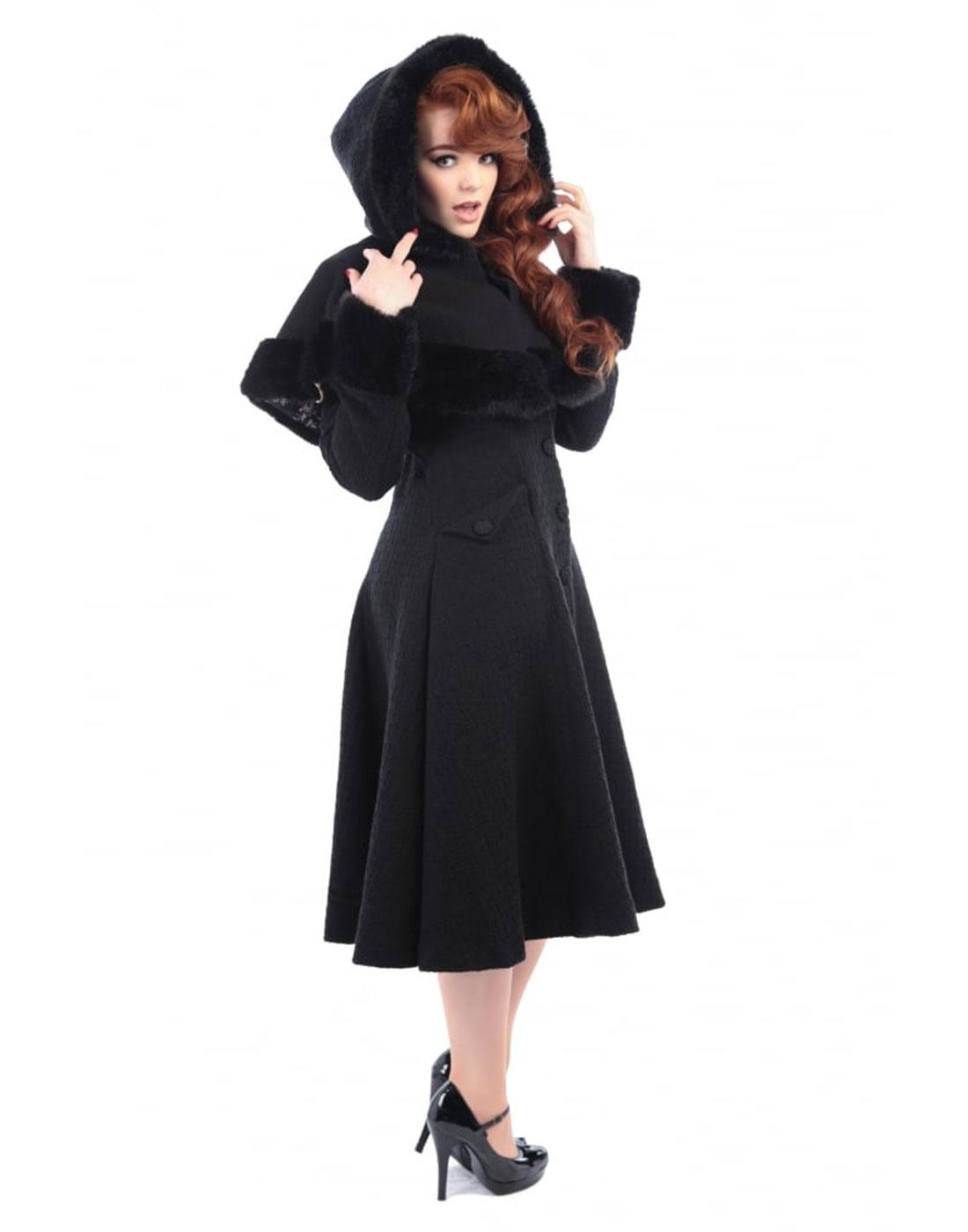 Anoushka COLLECTIF Hooded Princess Coat and Cape