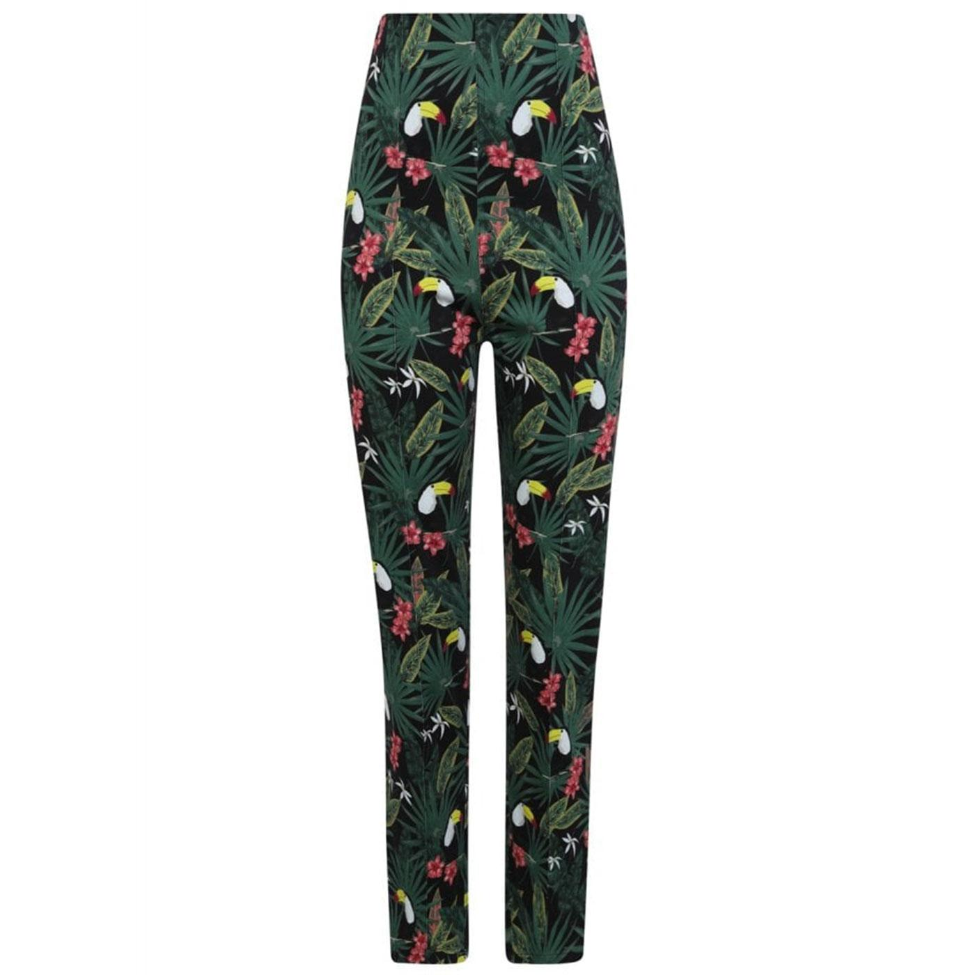 Bonnie COLLECTIF Womens Retro 50s Cigarette Pants