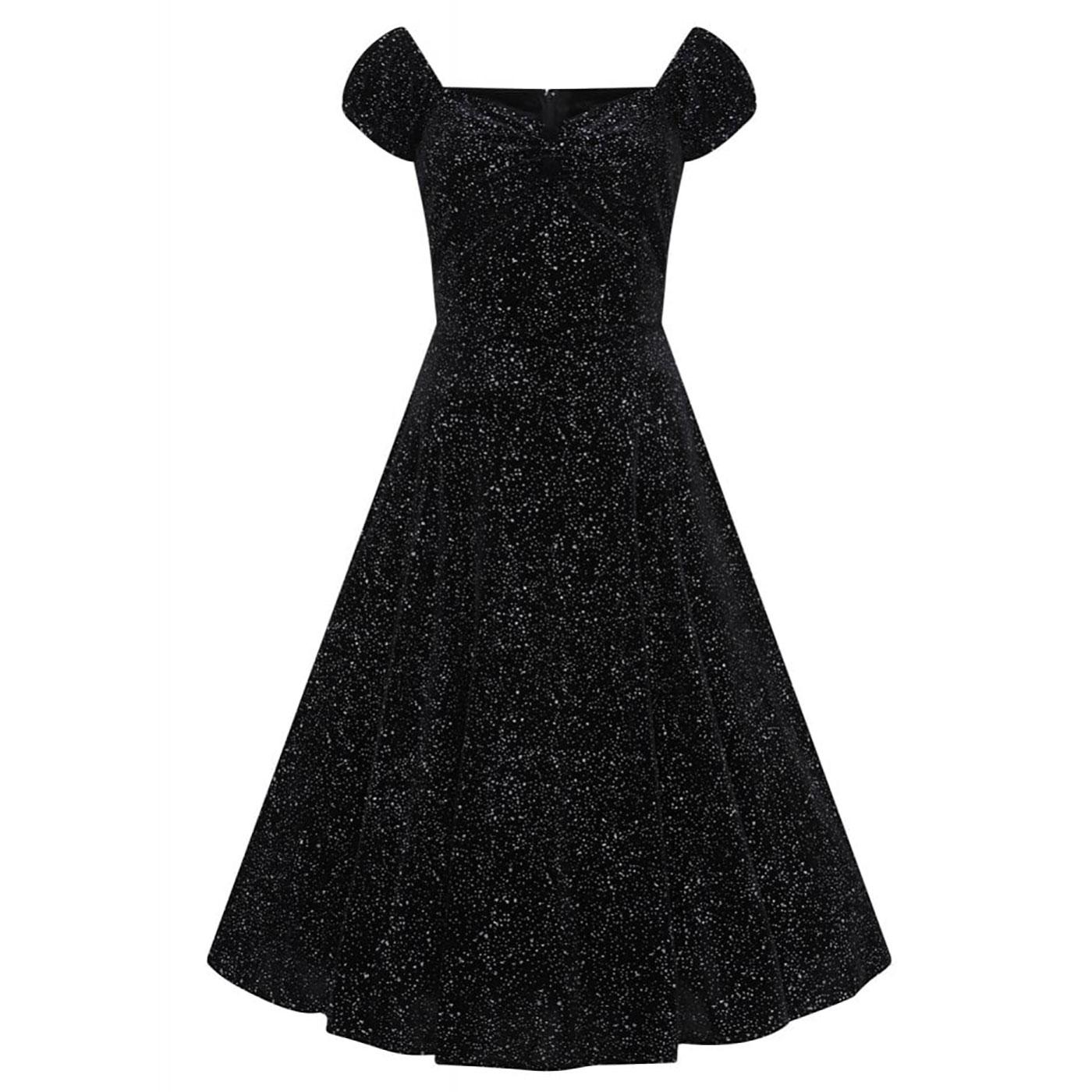 Dolores COLLECTIF Glitter Drops 1950s Doll Dress