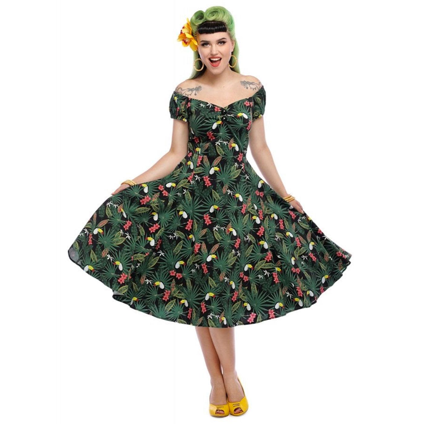 Dolores COLLECTIF Retro 50s Summer Doll Dress