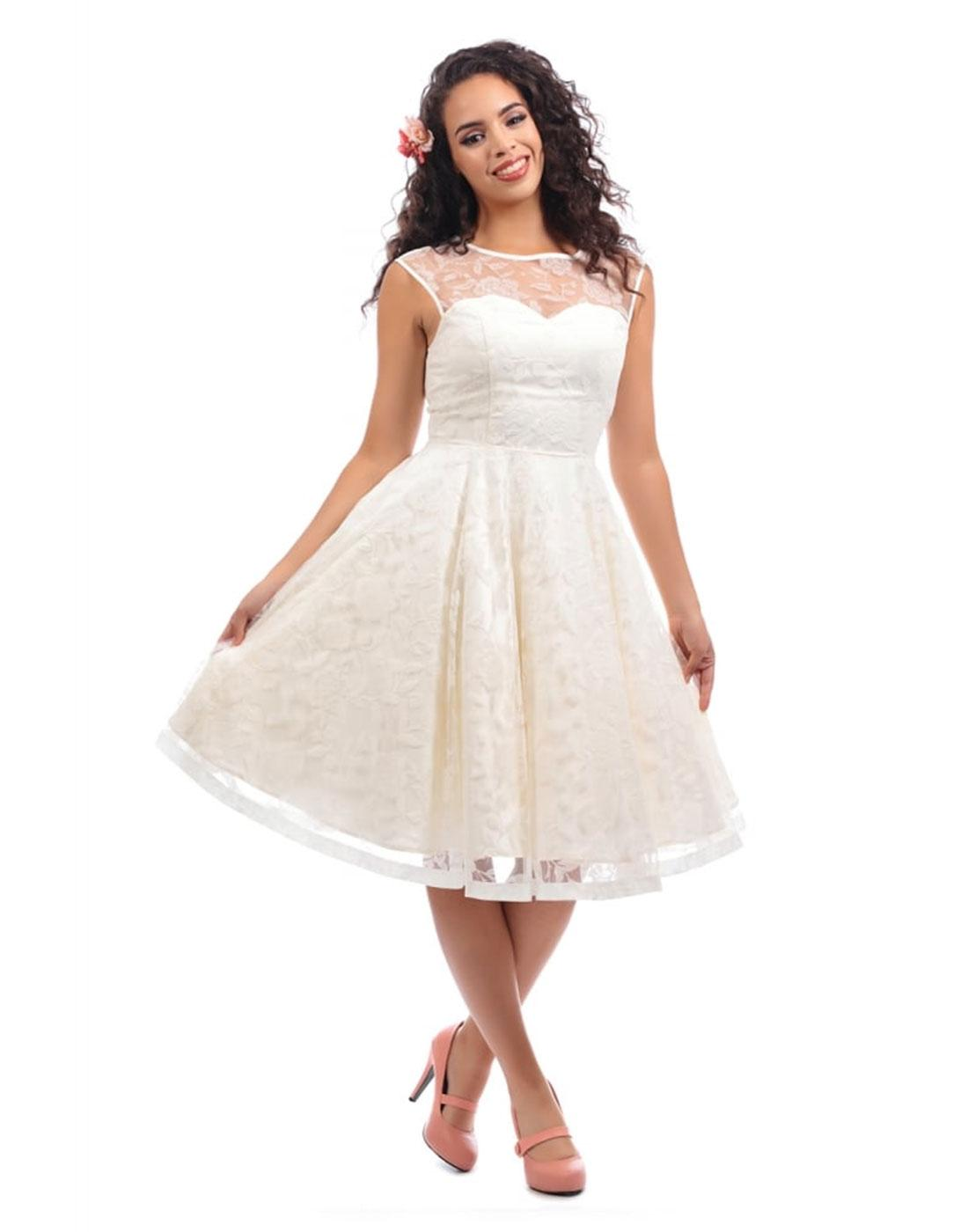 Faye COLLECTIF Vintage 50s Wedding or Prom Dress