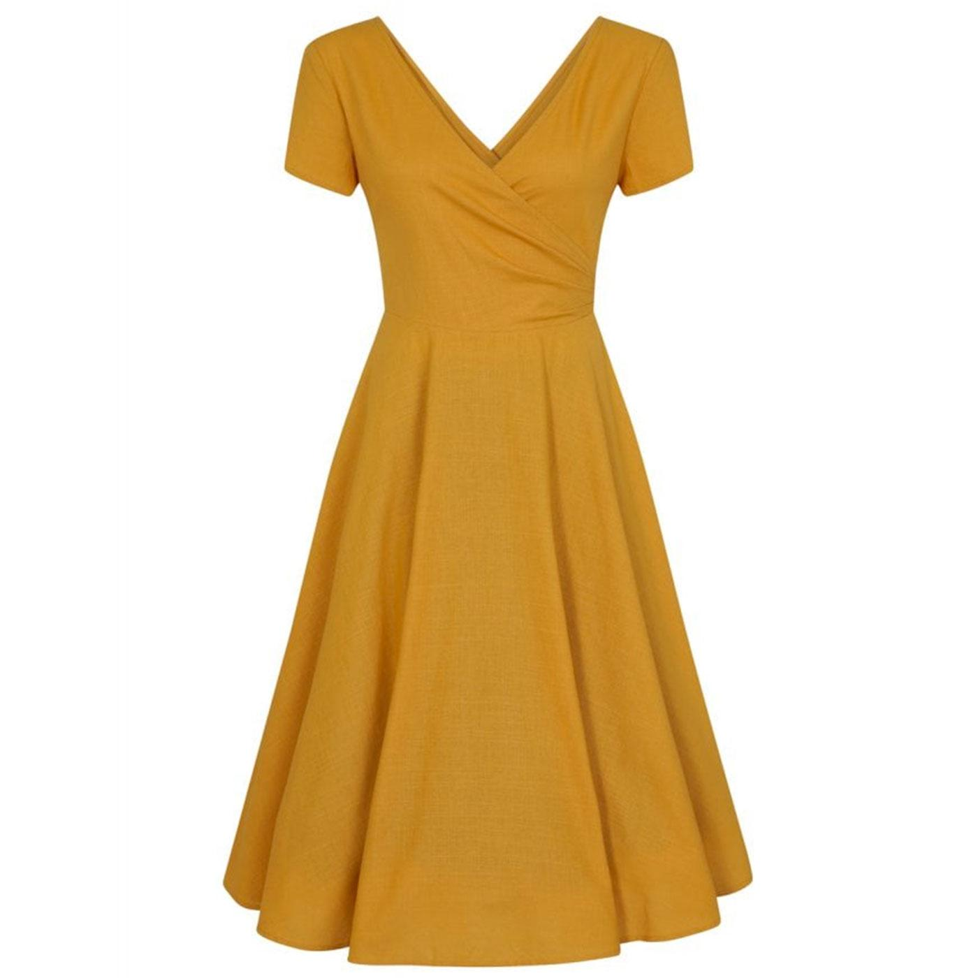 Maria COLLECTIF Retro 50s Wrap Summer Swing Dress