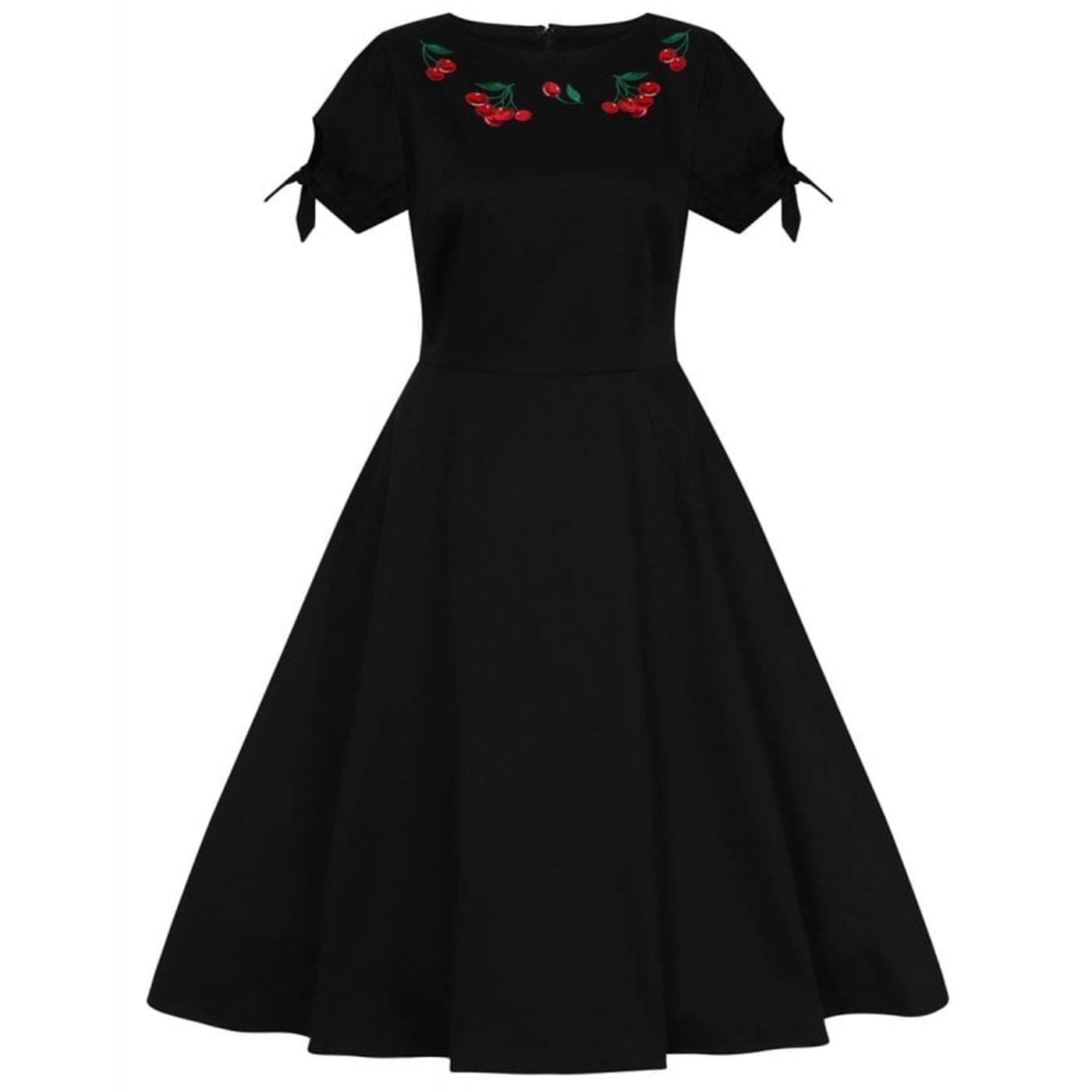 Stephanie COLLECTIF Retro 50s Cherry Swing Dress