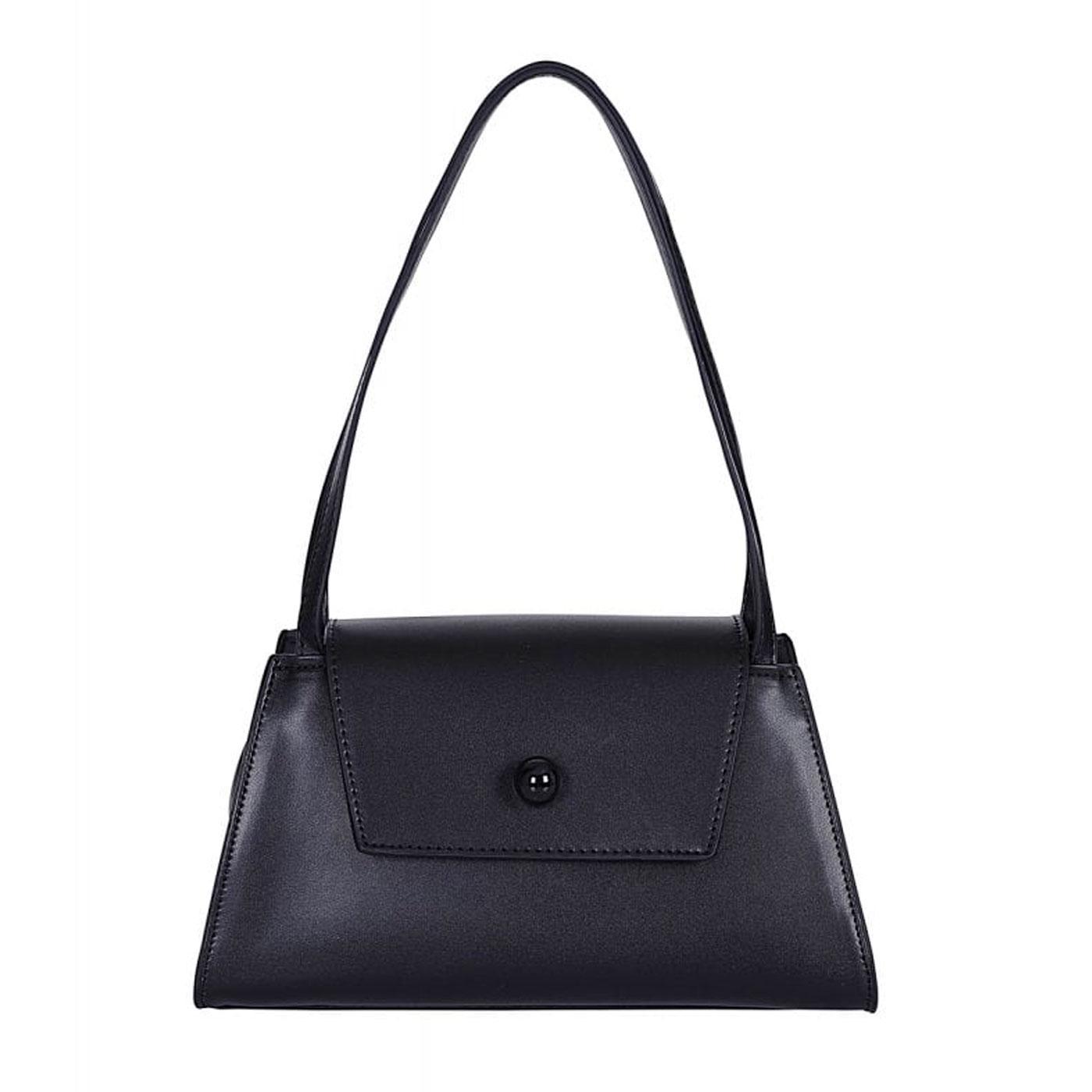 Sasha COLLECTIF Vintage Faux Leather Handbag Black