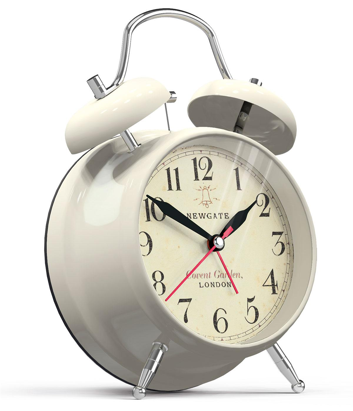 Covent Garden NEWGATE Retro Bell Alarm Clock