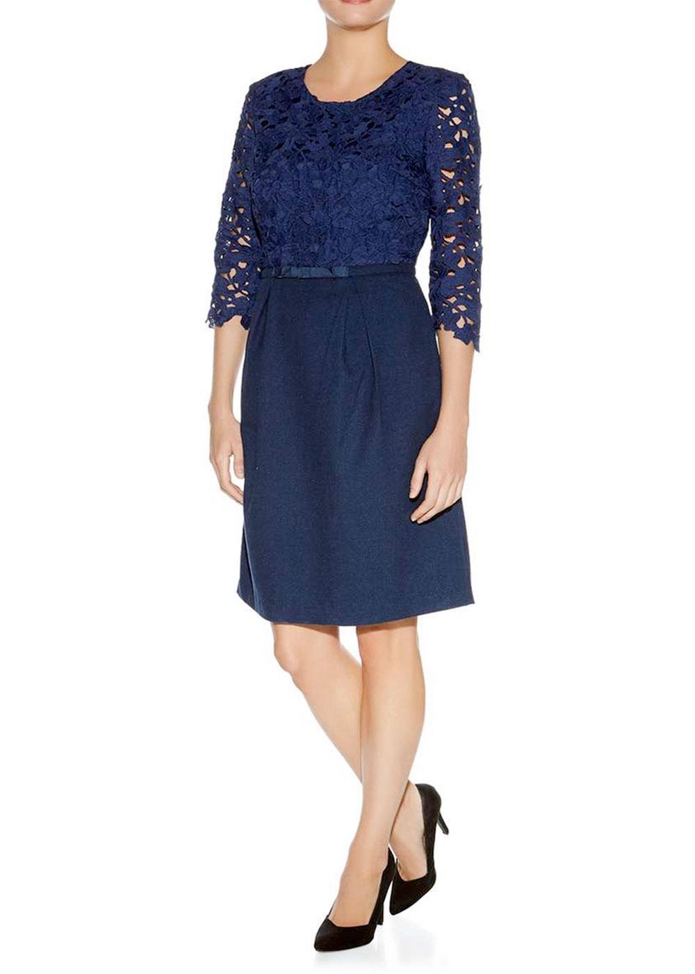 Fleur DARLING Retro 60s Lace Cutaway Dress (N)