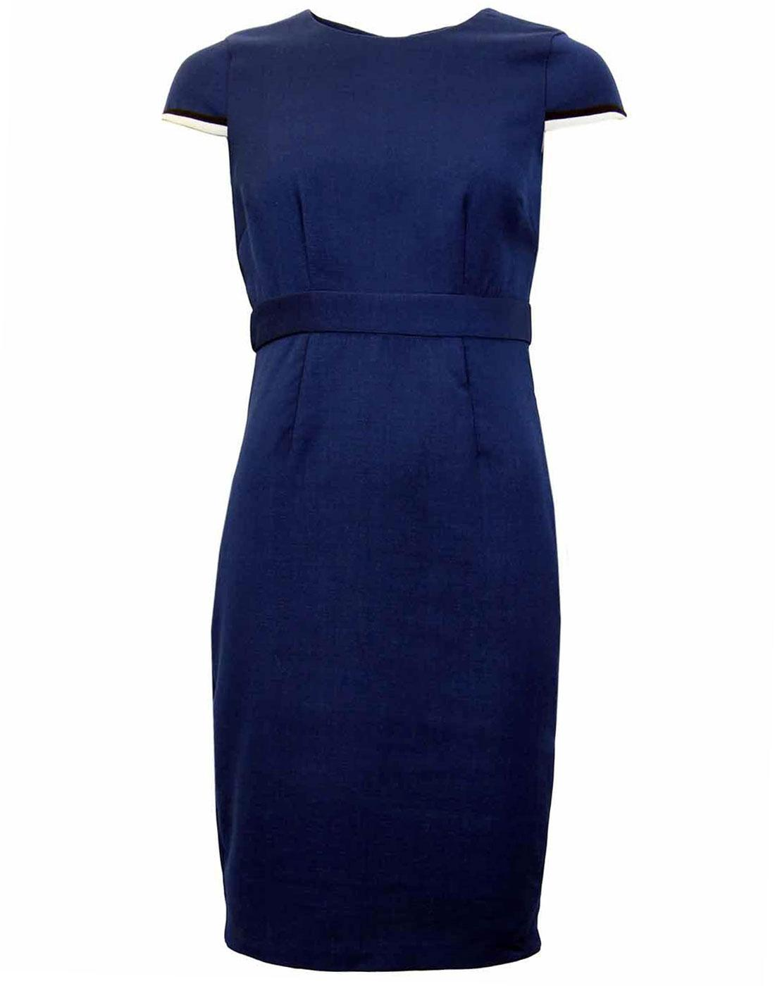 Gina DARLING Retro 50s Structured Pencil Dress