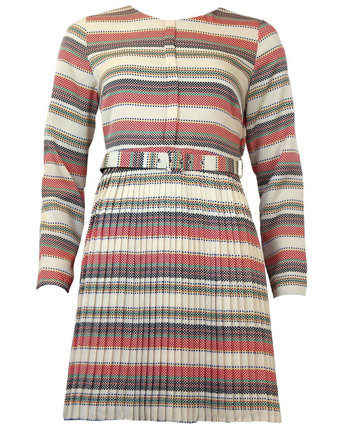 Ashleigh DARLING Retro 70s Polka Dot Dress
