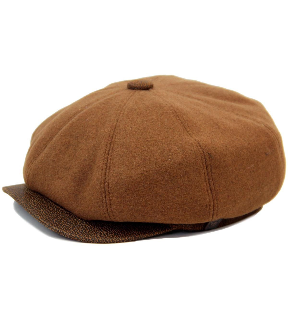Eden DASMARCA Retro Leather Gatsby Cap