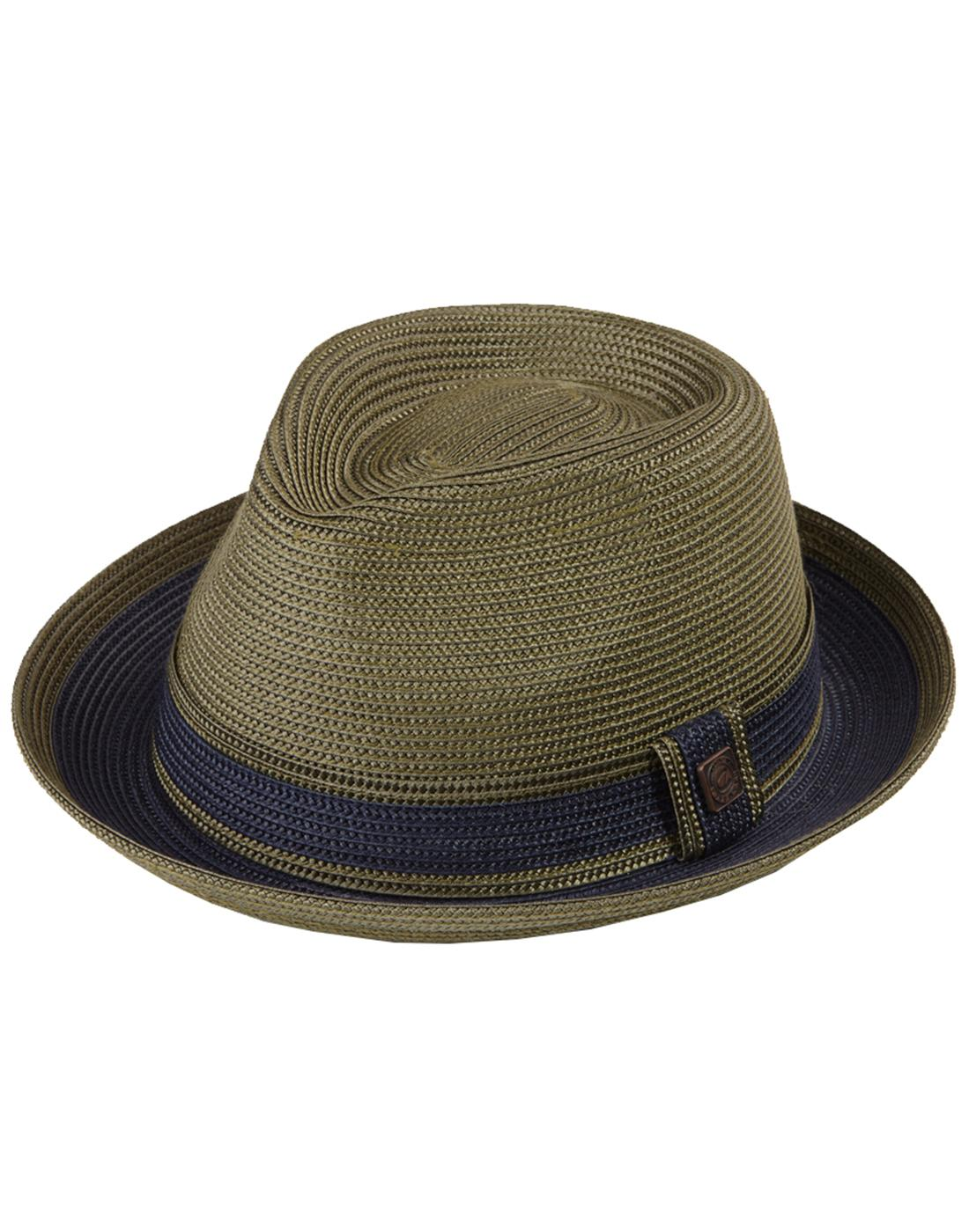 ac238362 DASMARCA Raynor Men's Retro Teardrop Trilby in Forest