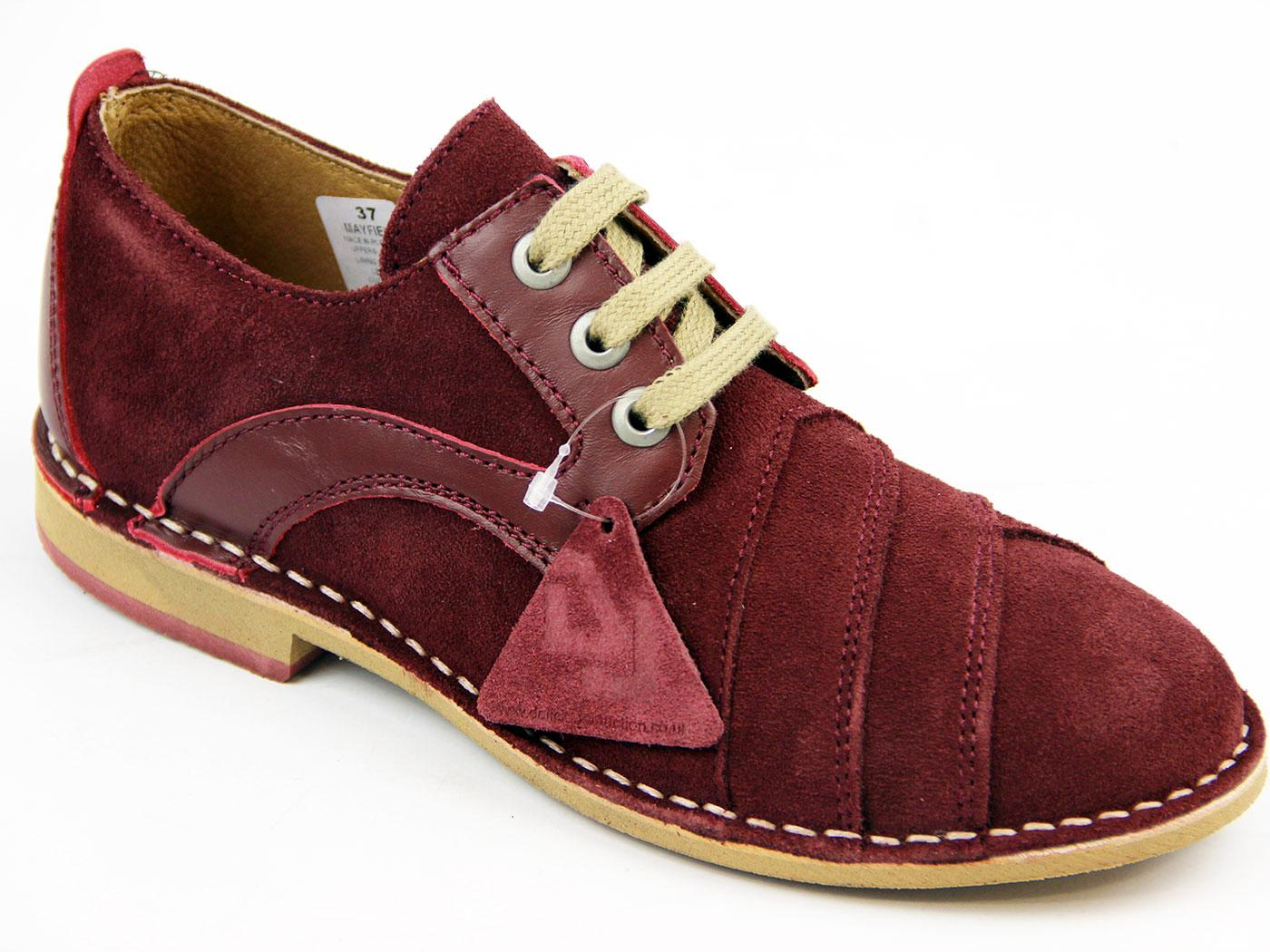 Mayfield DELICIOUS JUNCTION Mod Weave Suede Shoes