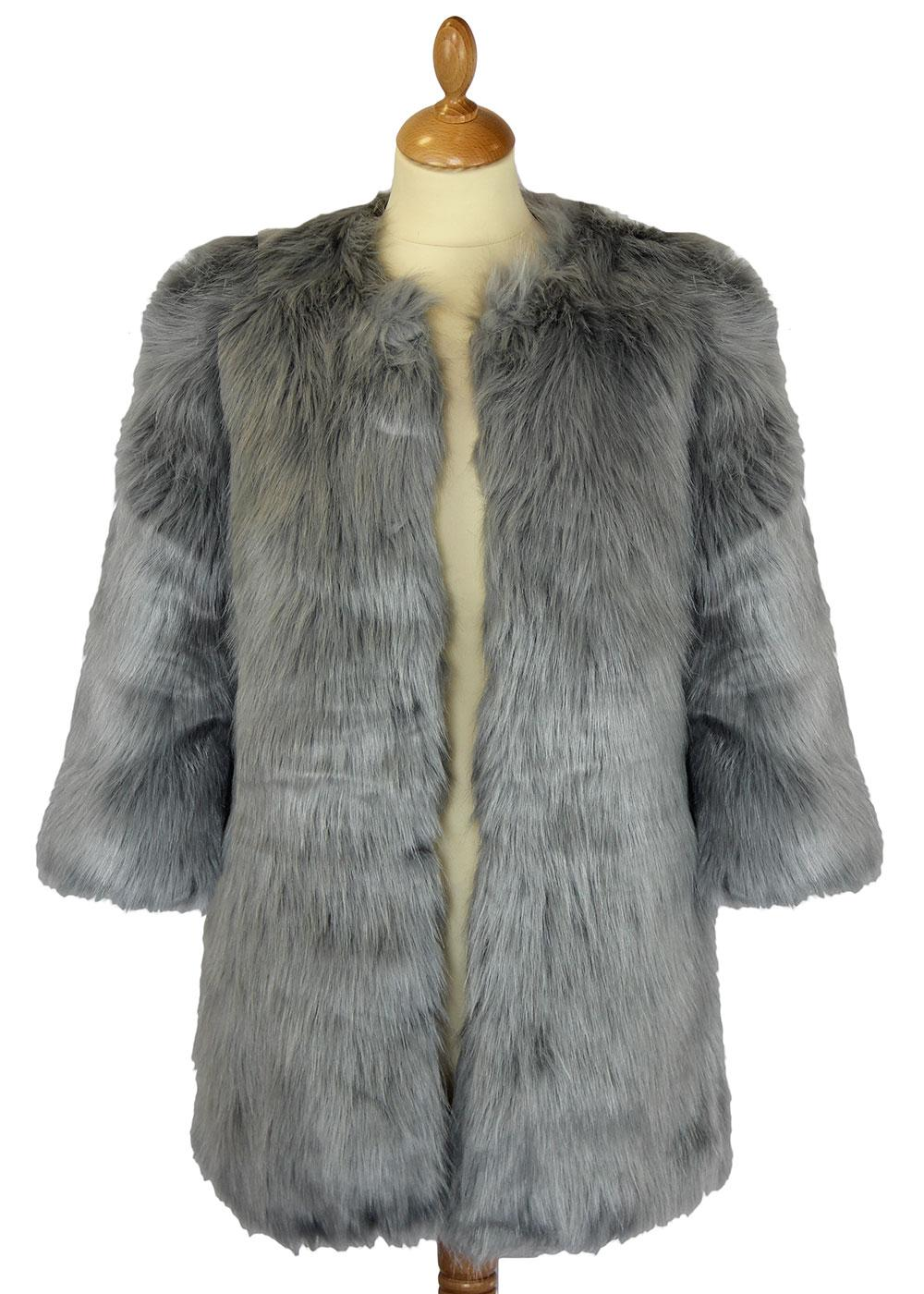 Indiana DESIGNER DUCHESS Retro Faux Fur Jacket