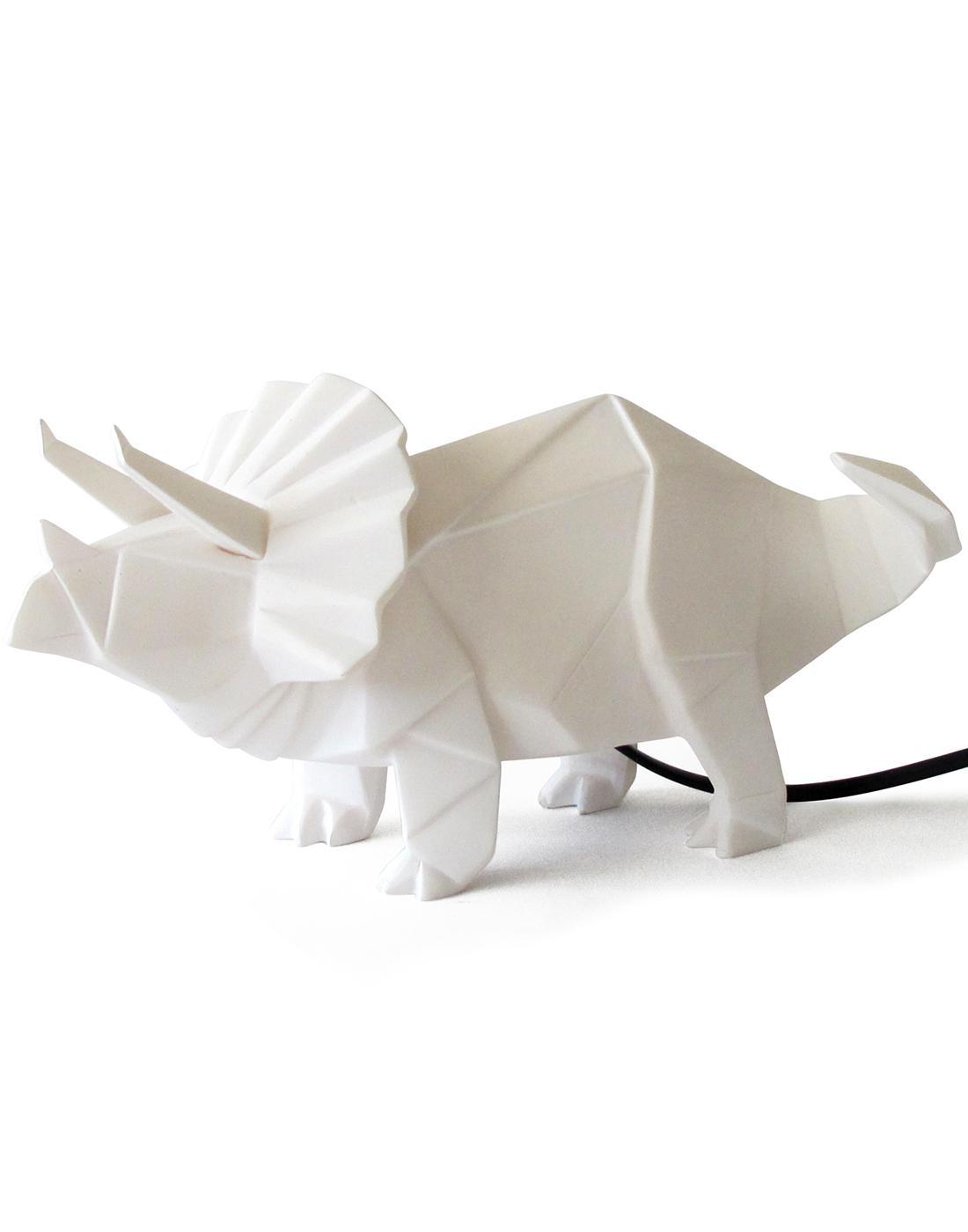DISASTER DESIGNS Triceratops Dinosaur Origami Lamp