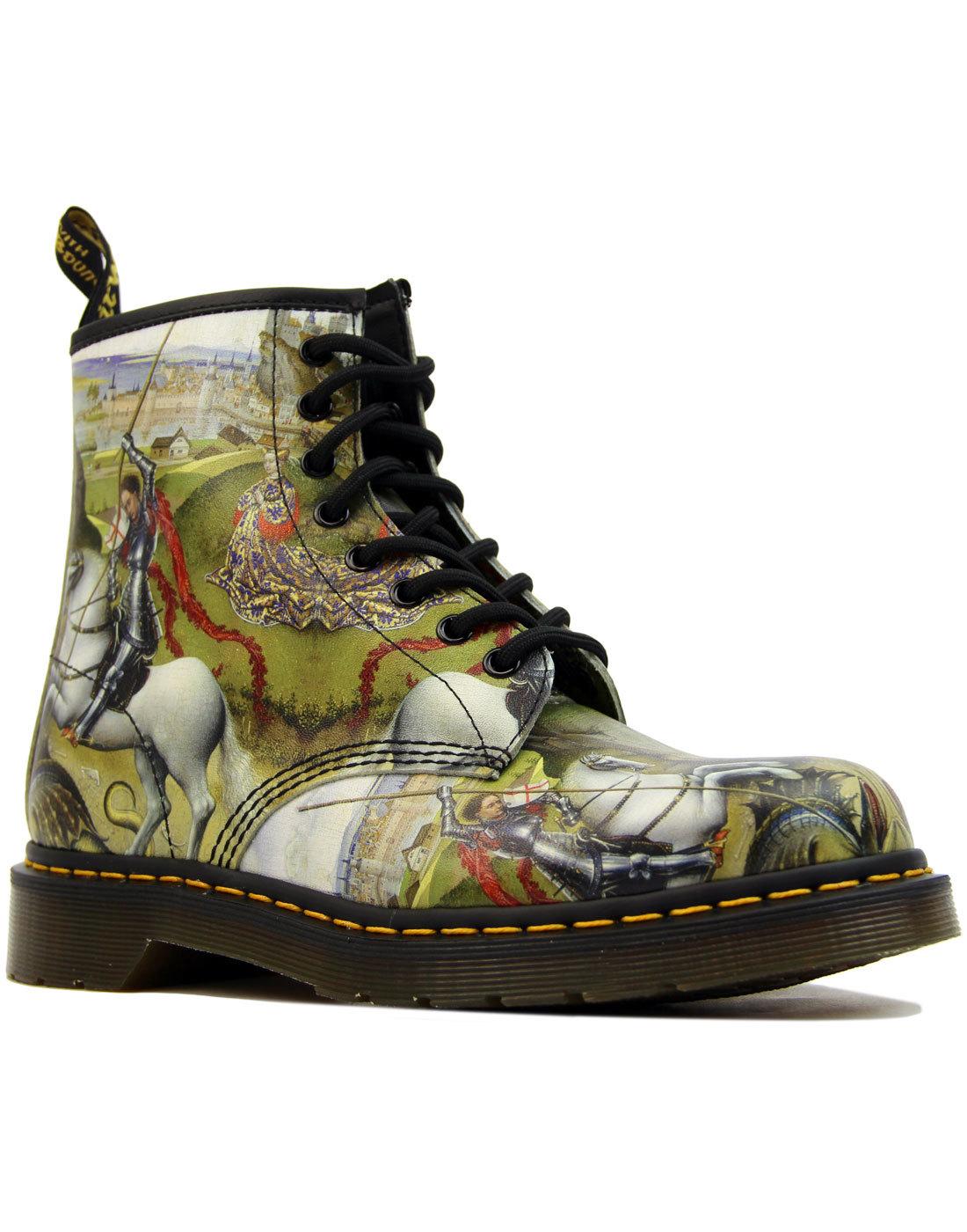 628809d00d4 DR MARTENS 1460 Saint George And The Dragon Men's Mod Boots