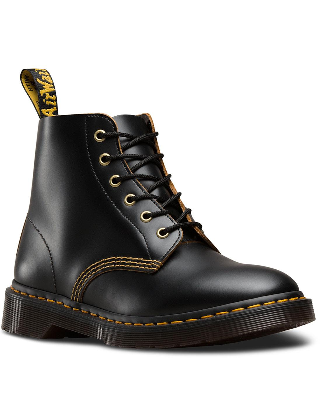 101 Archive DR MARTENS Mod 6 Eyelet Ankle Boots B