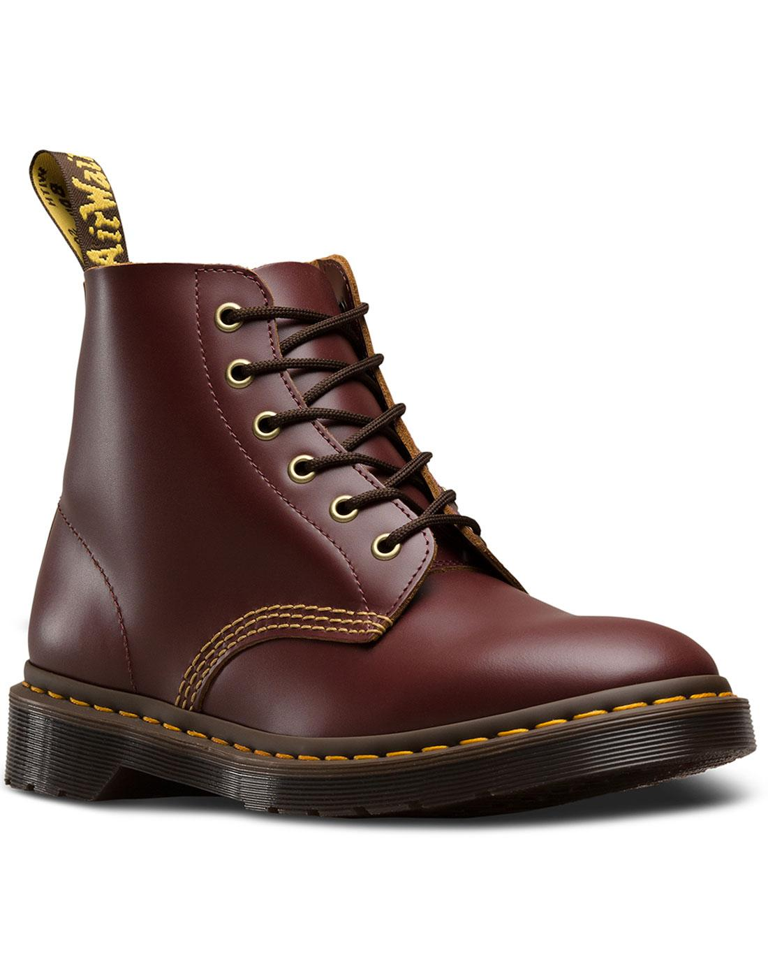 101 Archive DR MARTENS Mod 6 Eyelet Ankle Boots O