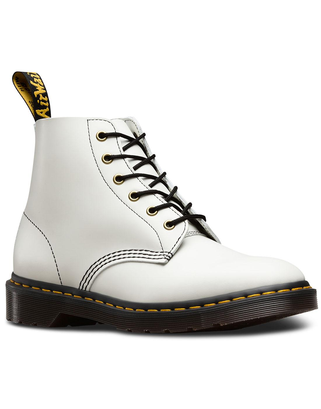 101 Archive DR MARTENS Mod 6 Eyelet Ankle Boots W