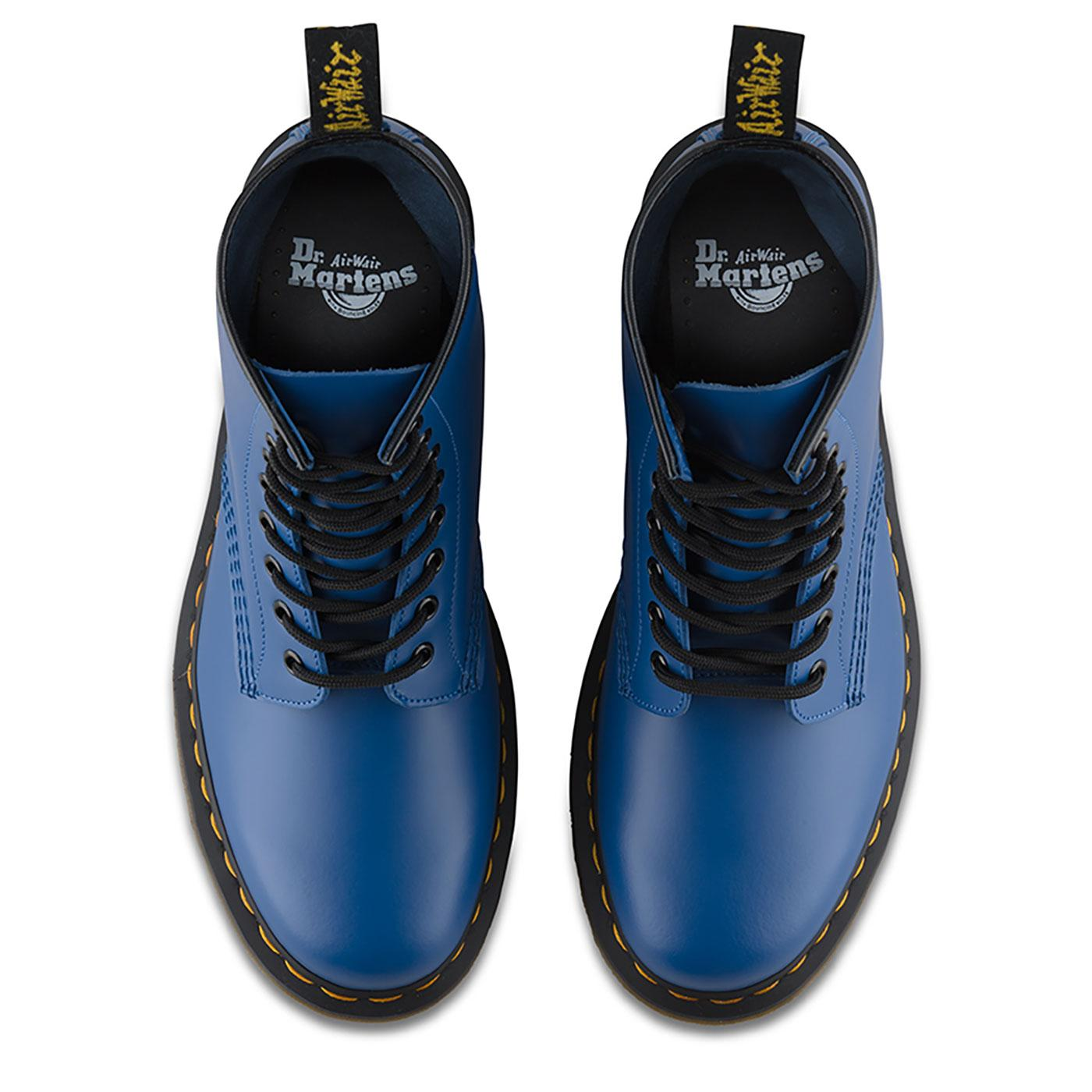 DR MARTENS '1460 Colour Pop' Retro Smooth Boots in Blue