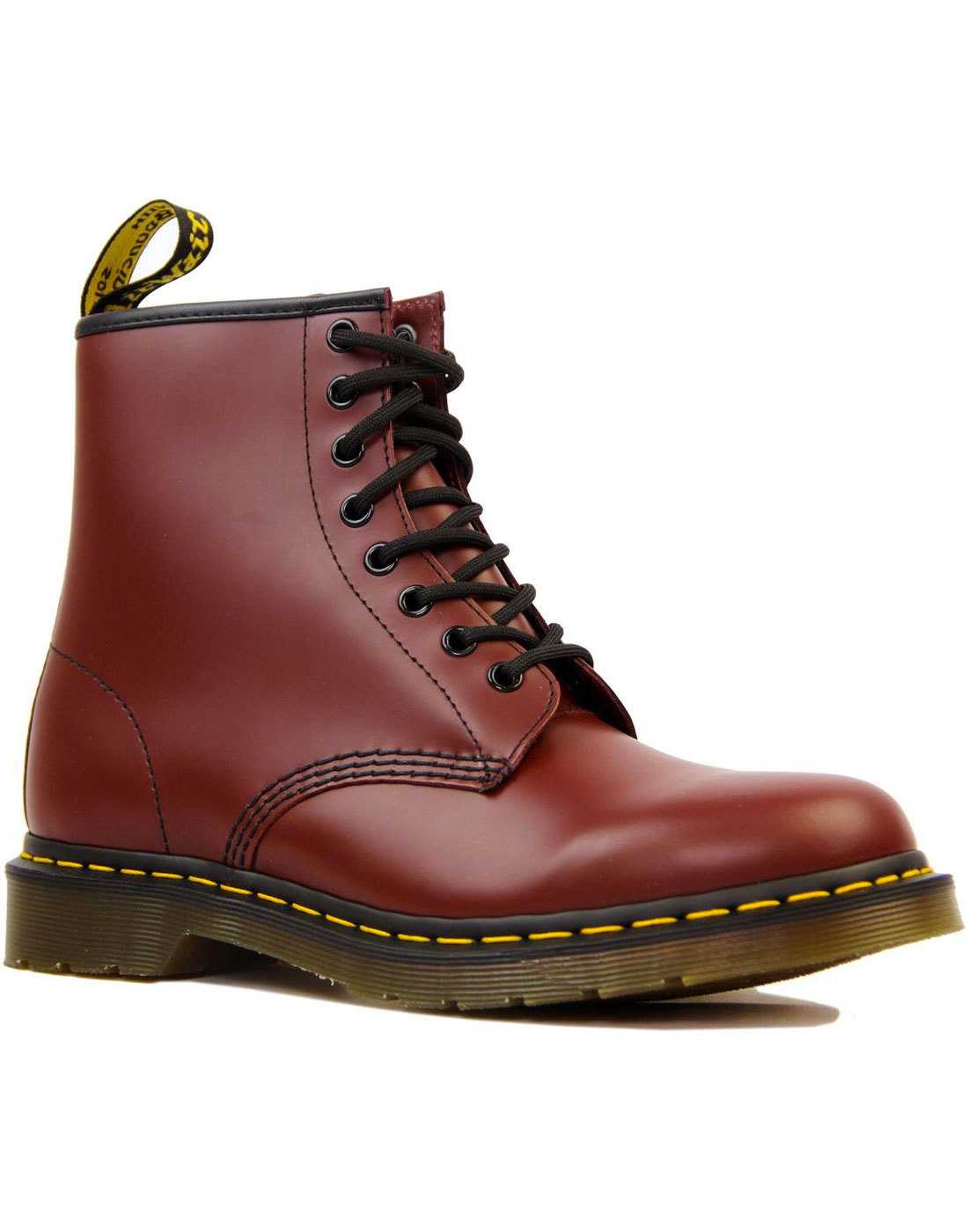 1460 DR MARTENS Womens Mod Cherry Leather Boots
