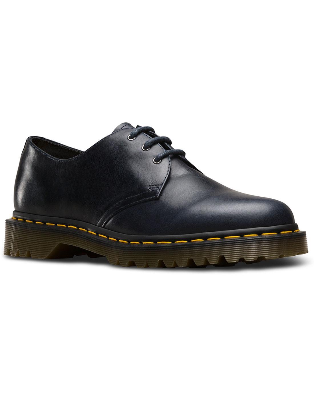 1461 Orleans DR MARTENS Retro Mod Derby Shoes NAVY