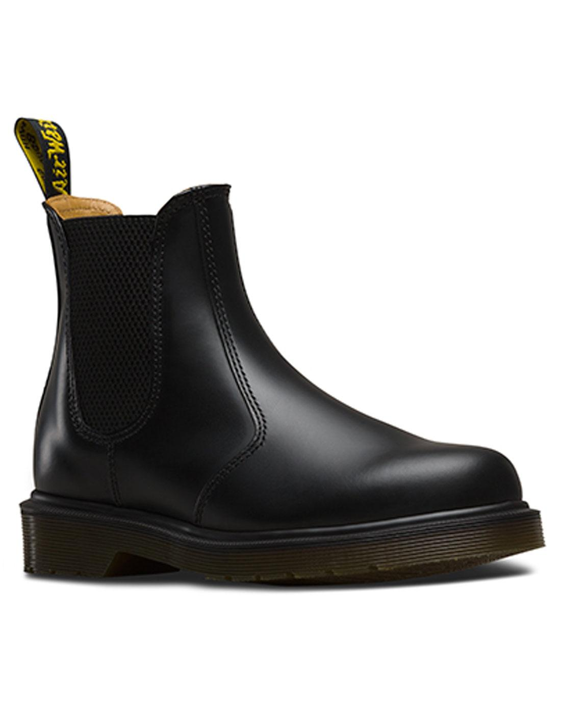 2976 Smooth DR MARTENS 60s Mod Chelsea Boots BLACK